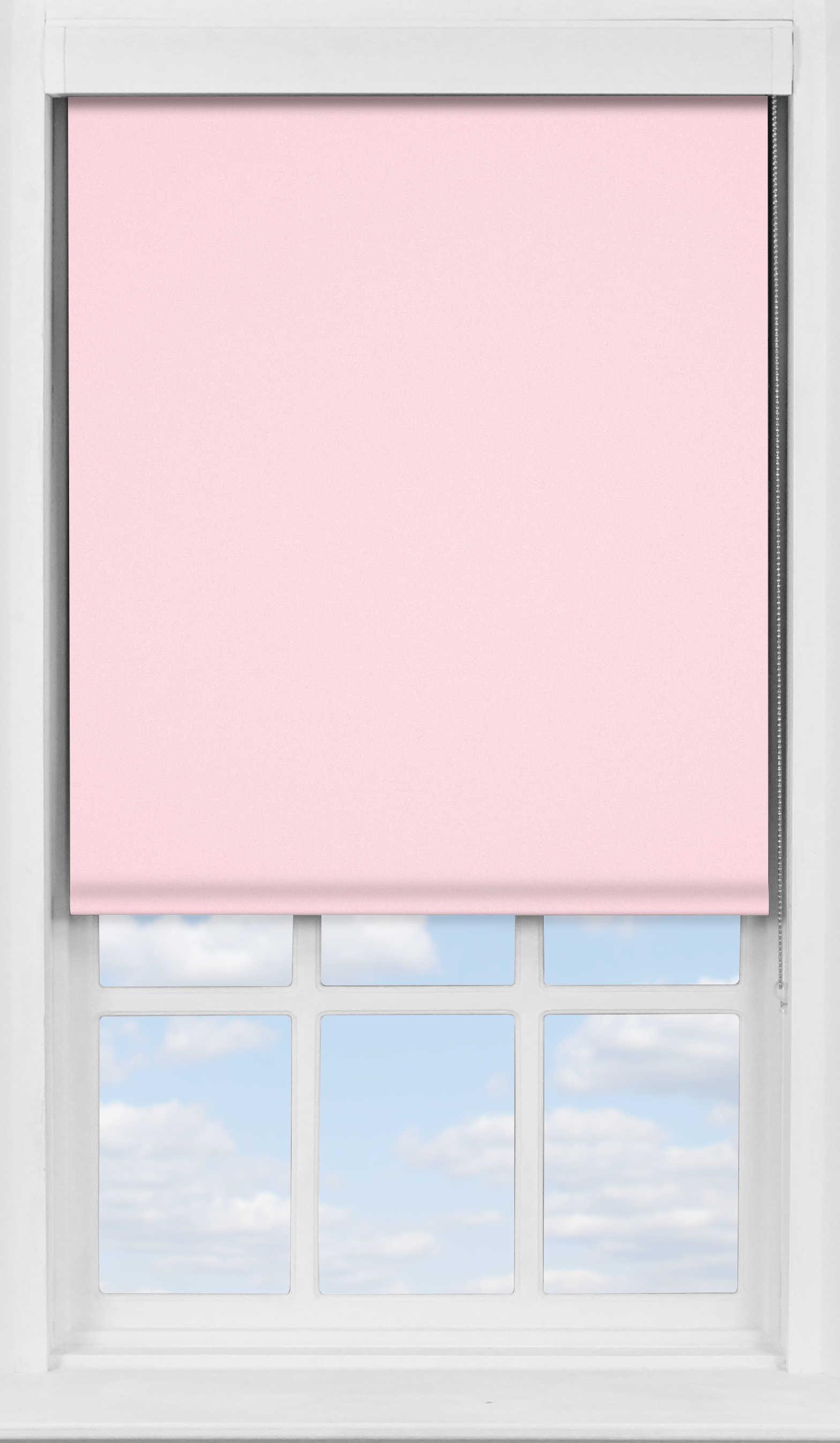 Premium Roller Blind in Pink Macaroon Blackout