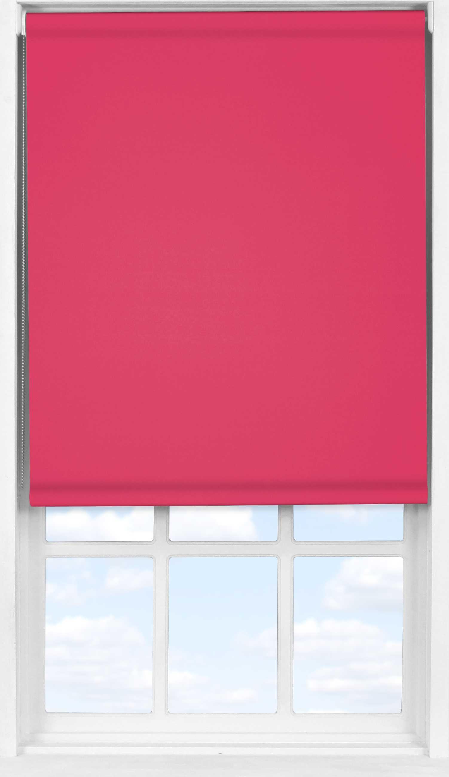 Easifit Roller Blind in Pink Punch Blackout