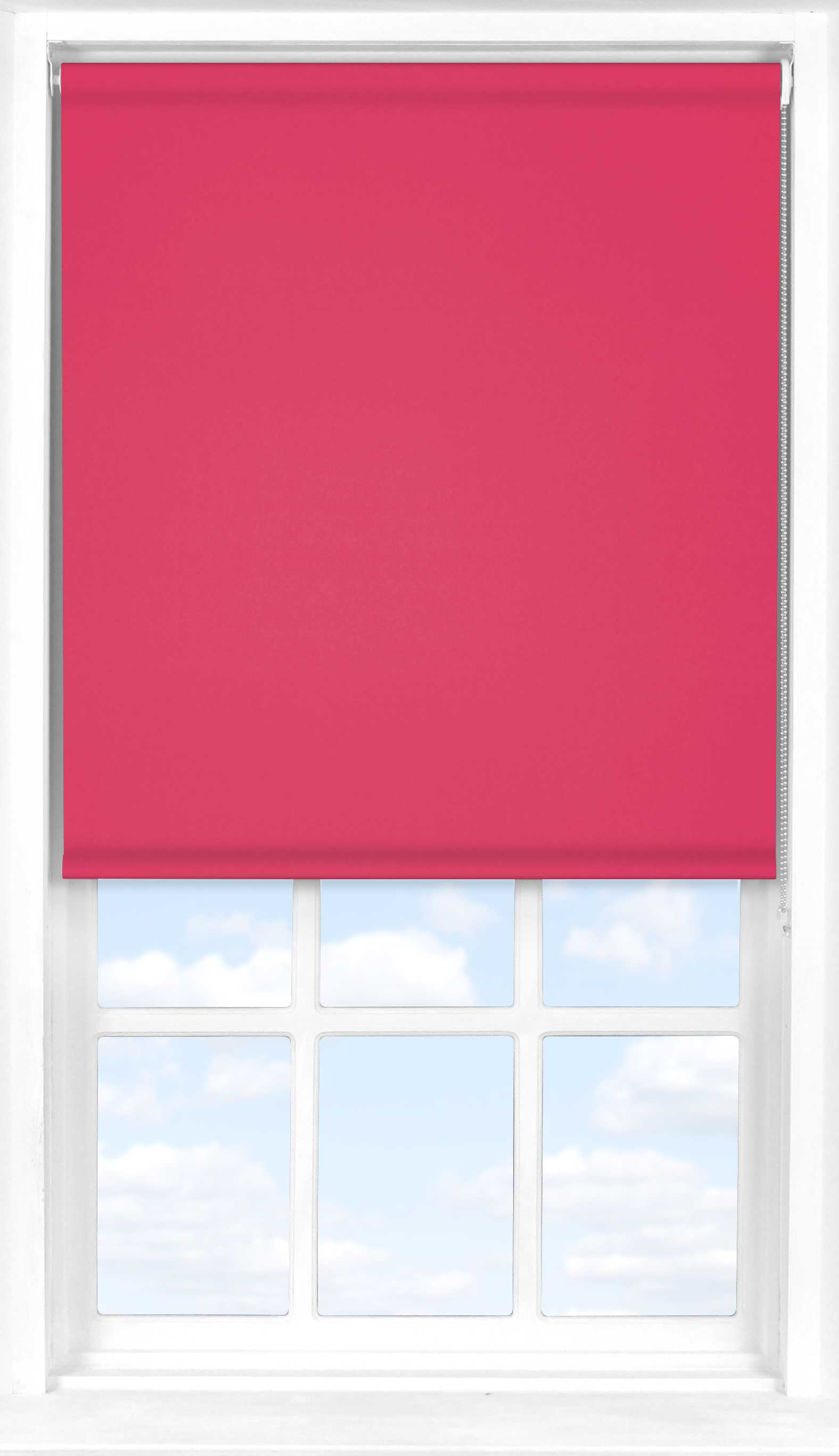 Roller Blind in Pink Punch Blackout