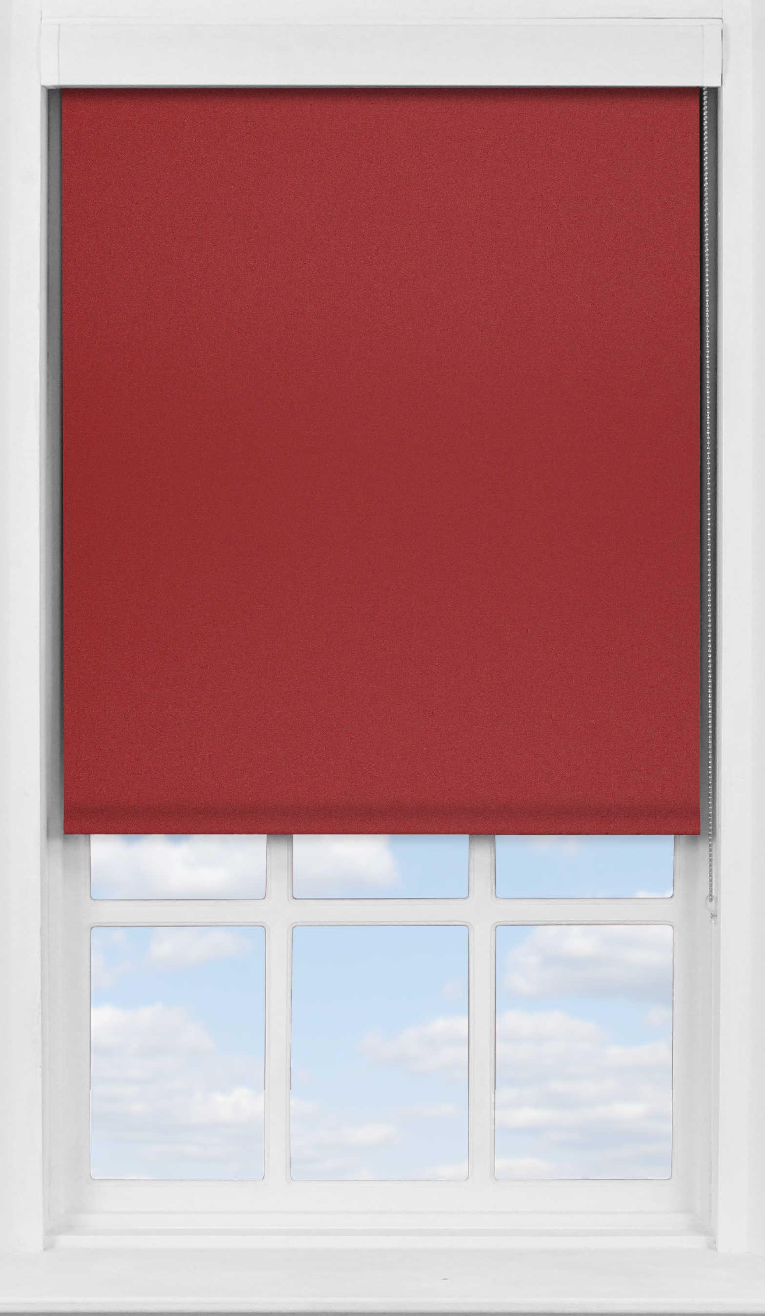 Premium Roller Blind in Ruby Translucent