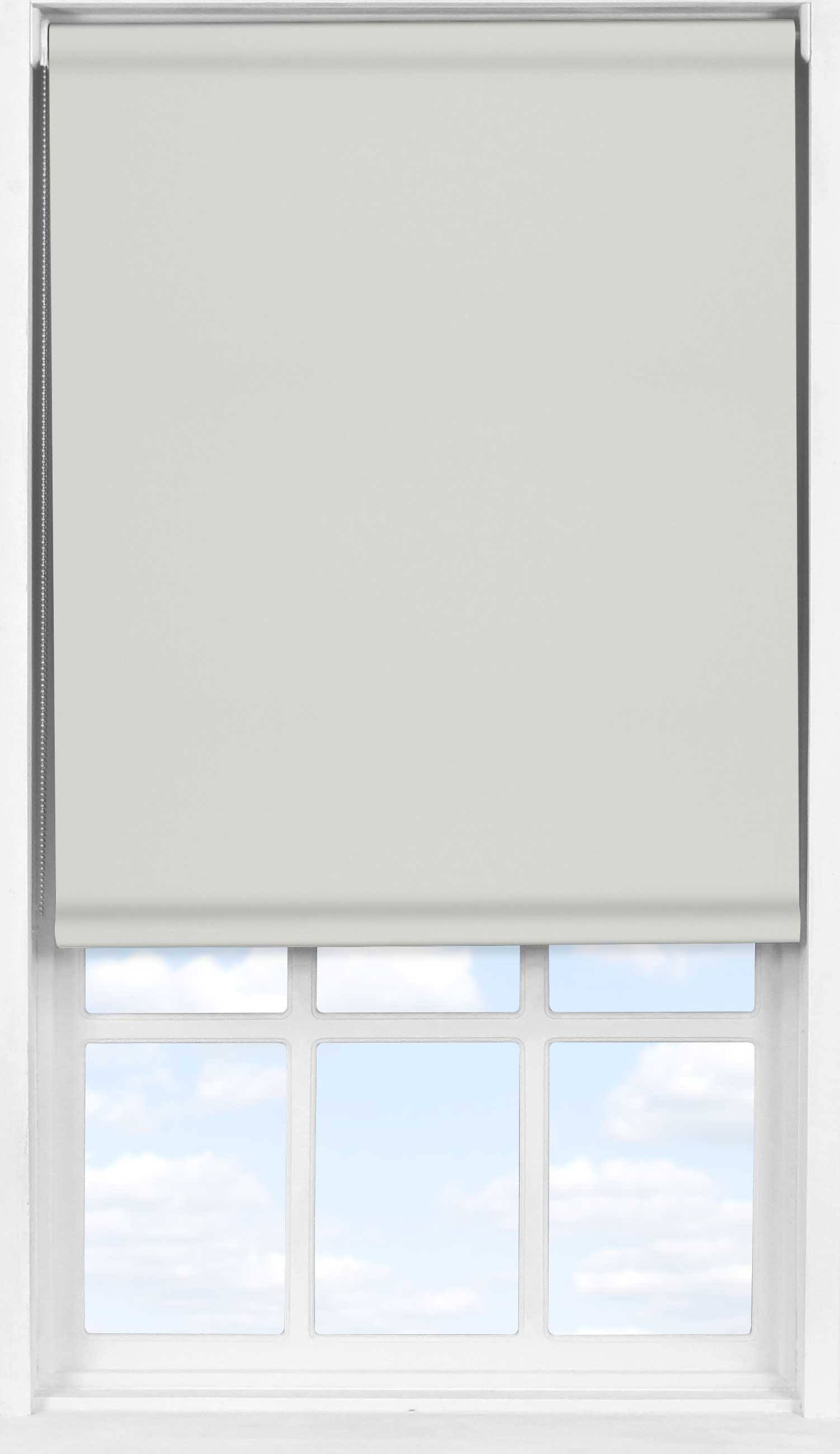 Easifit Roller Blind in Soft Grey Mist Blackout