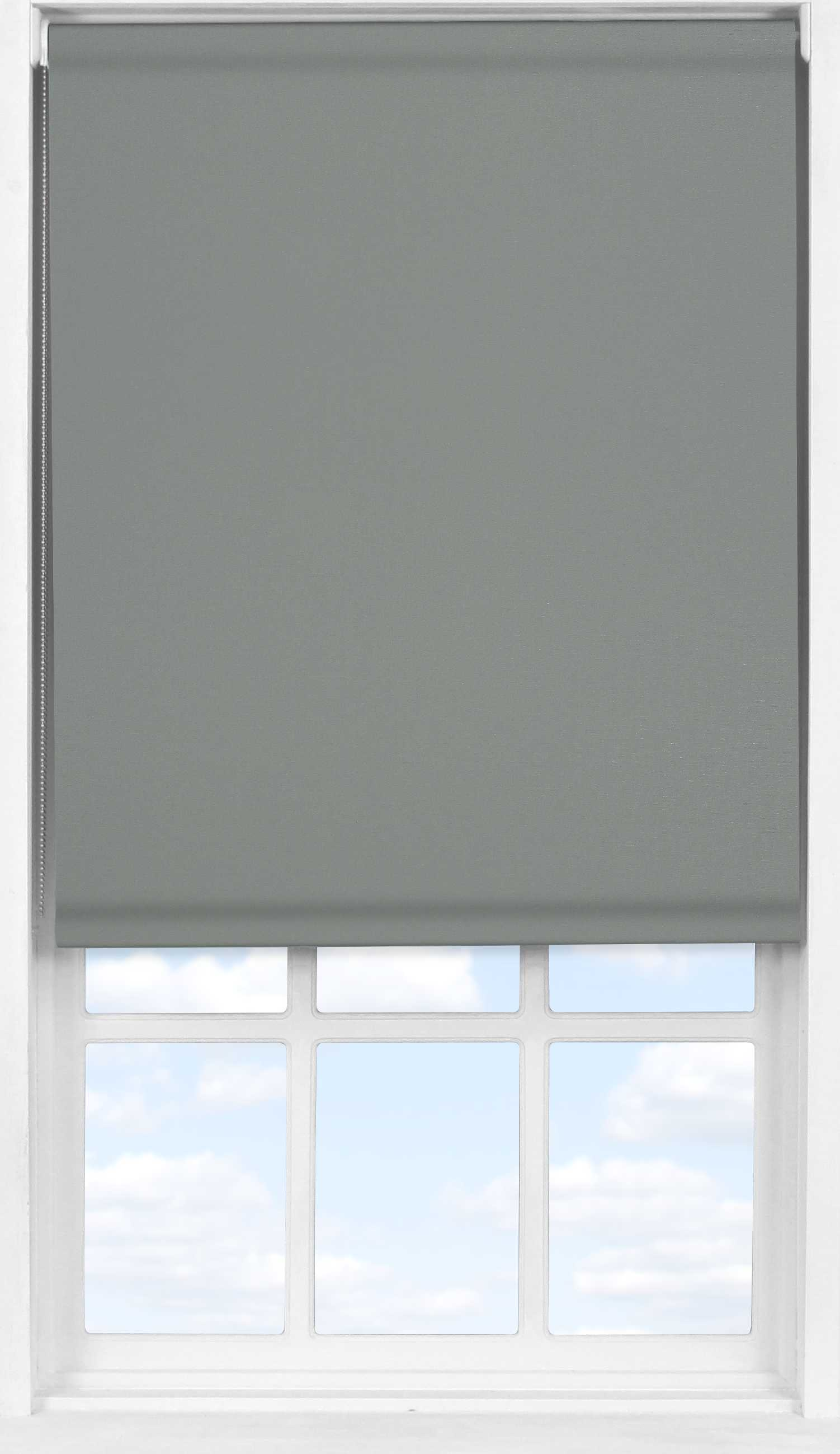 Easifit Roller Blind in Sooty Grey Blackout