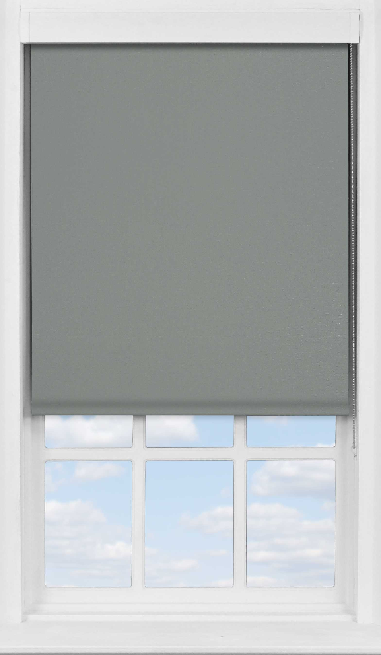 Premium Roller Blind in Sooty Grey Blackout