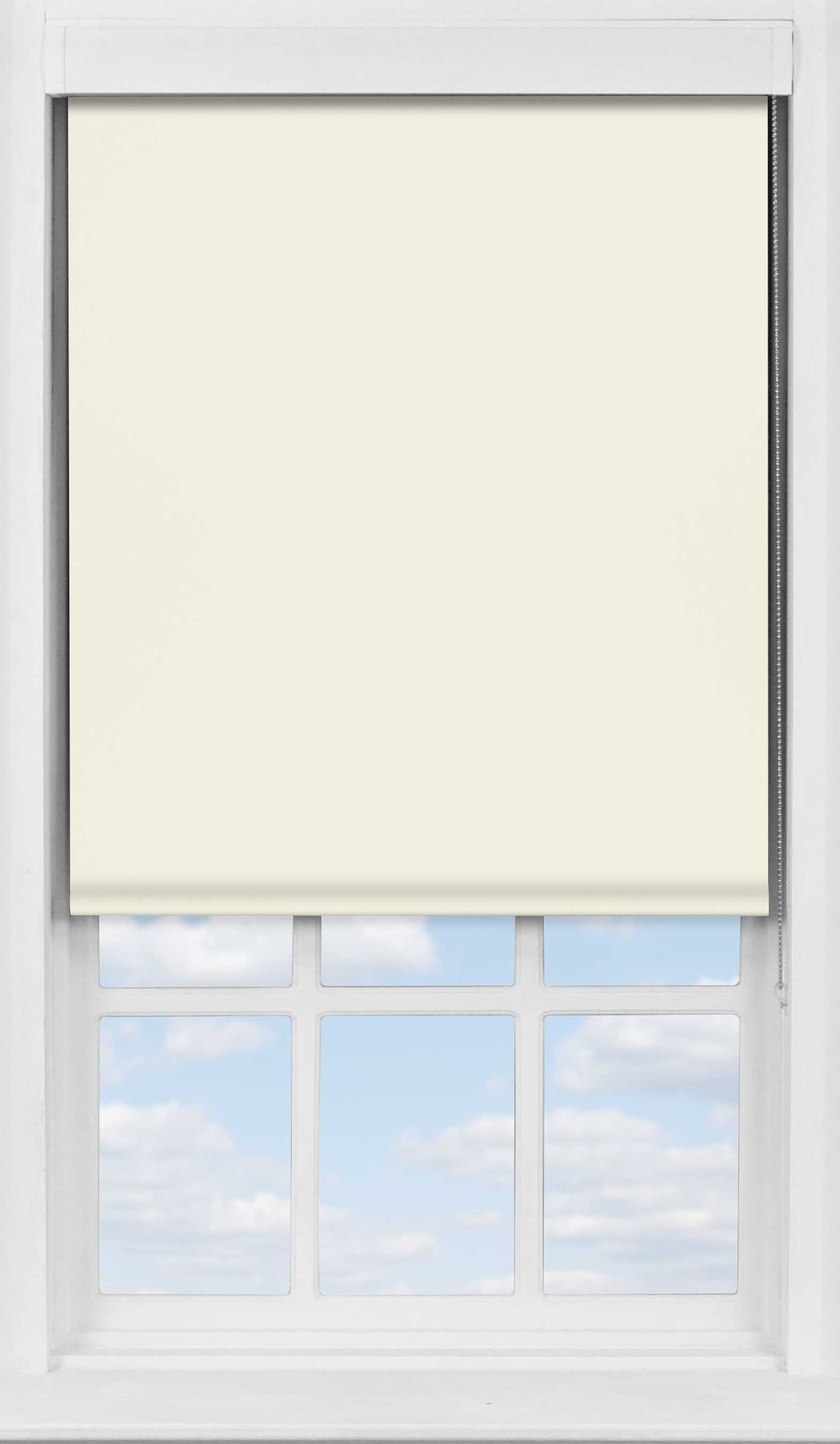 Premium Roller Blind in Soft Sand Translcuent