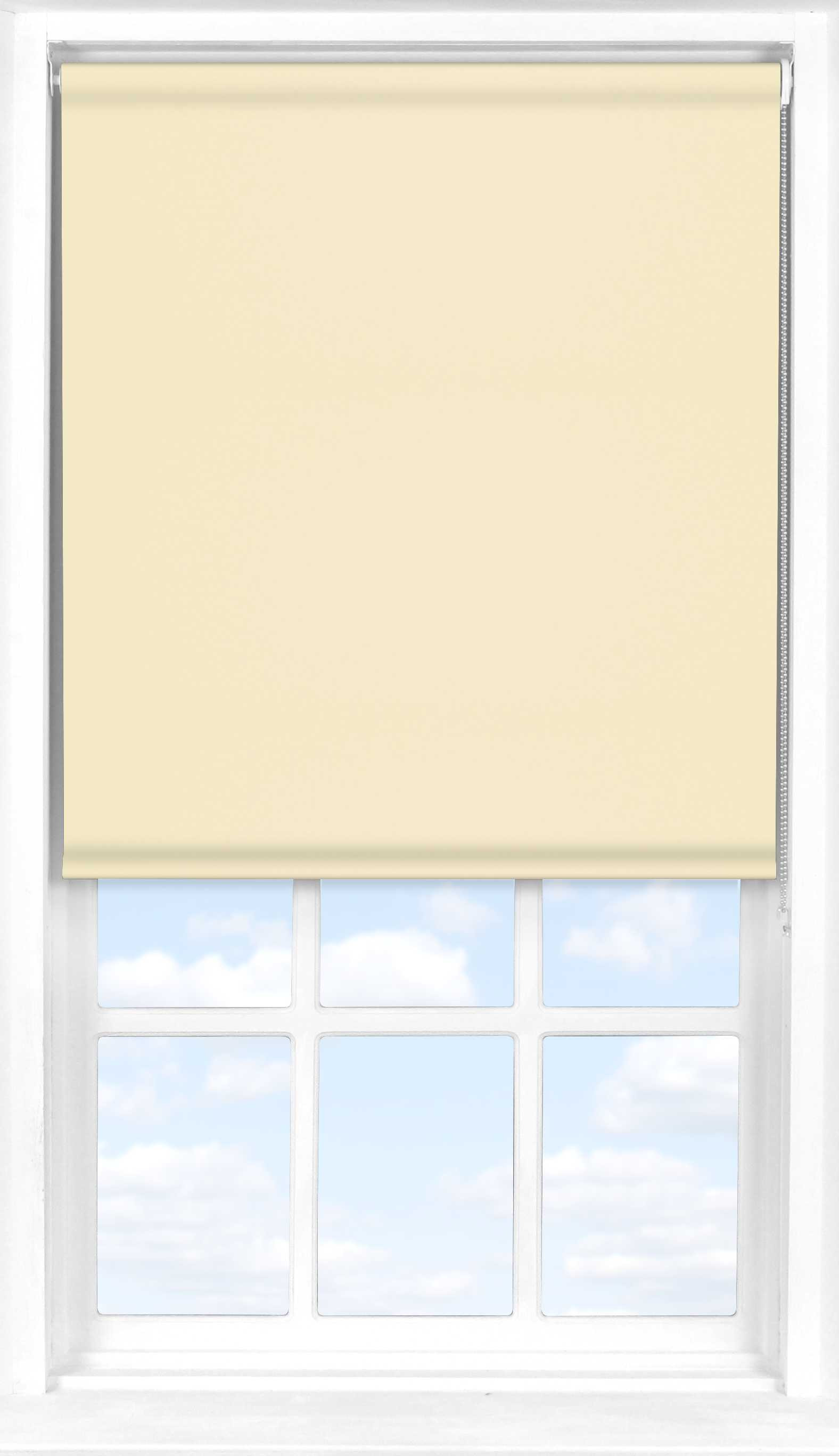 Roller Blind in Taupe Blackout