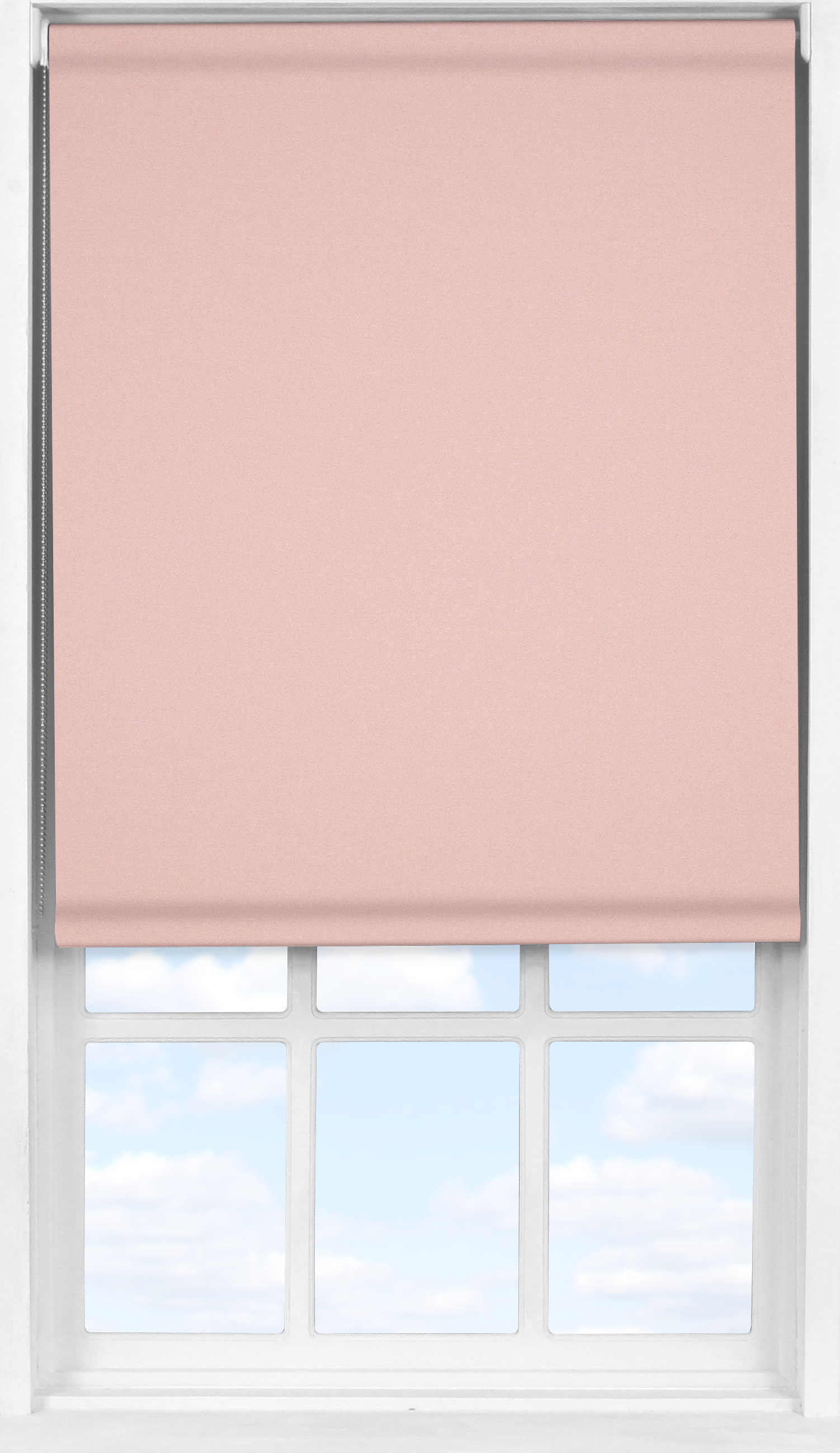 Easifit Roller Blind in Mallow Pink Blackout