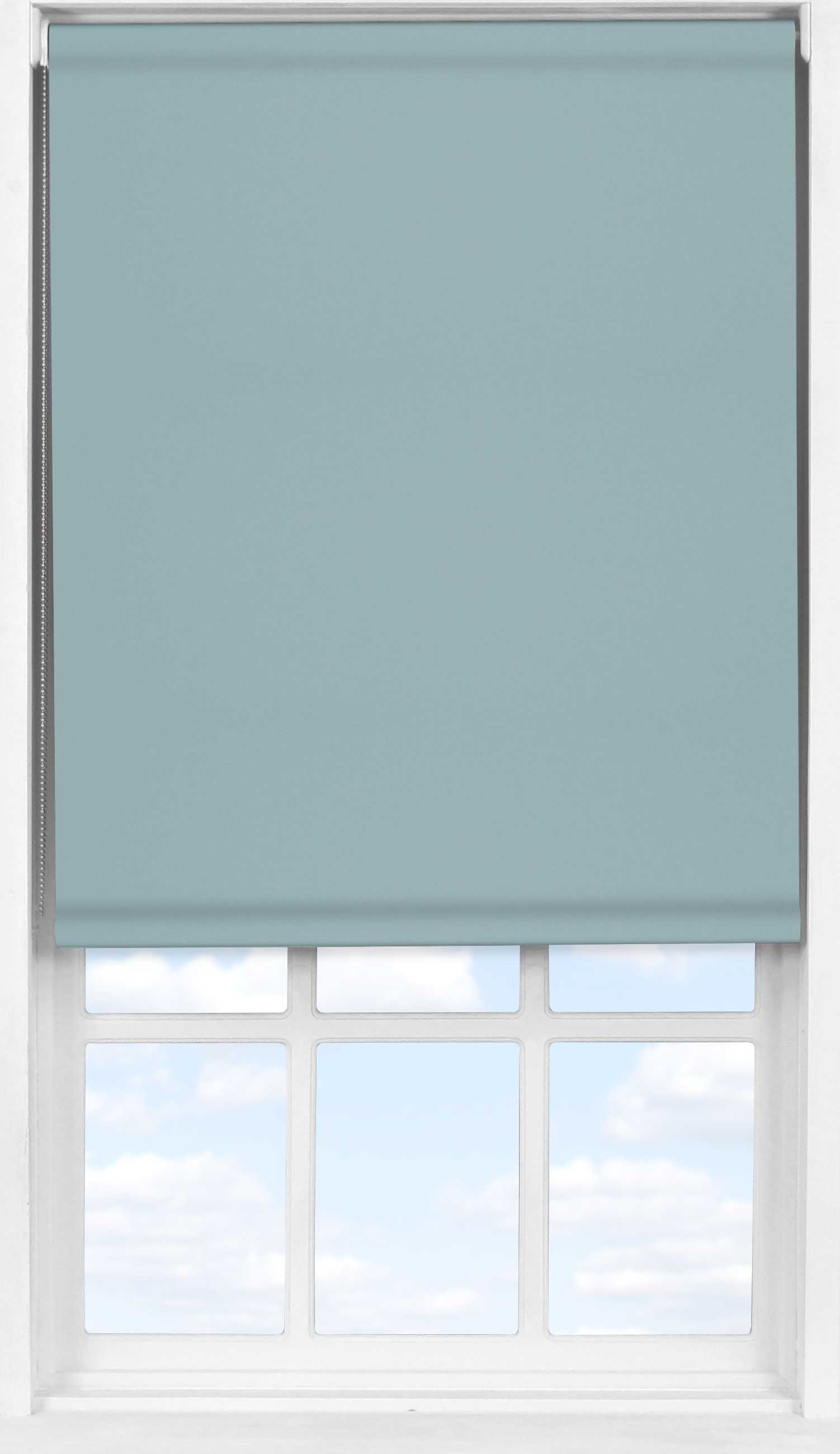 Easifit Roller Blind in Blue Stone Blackout