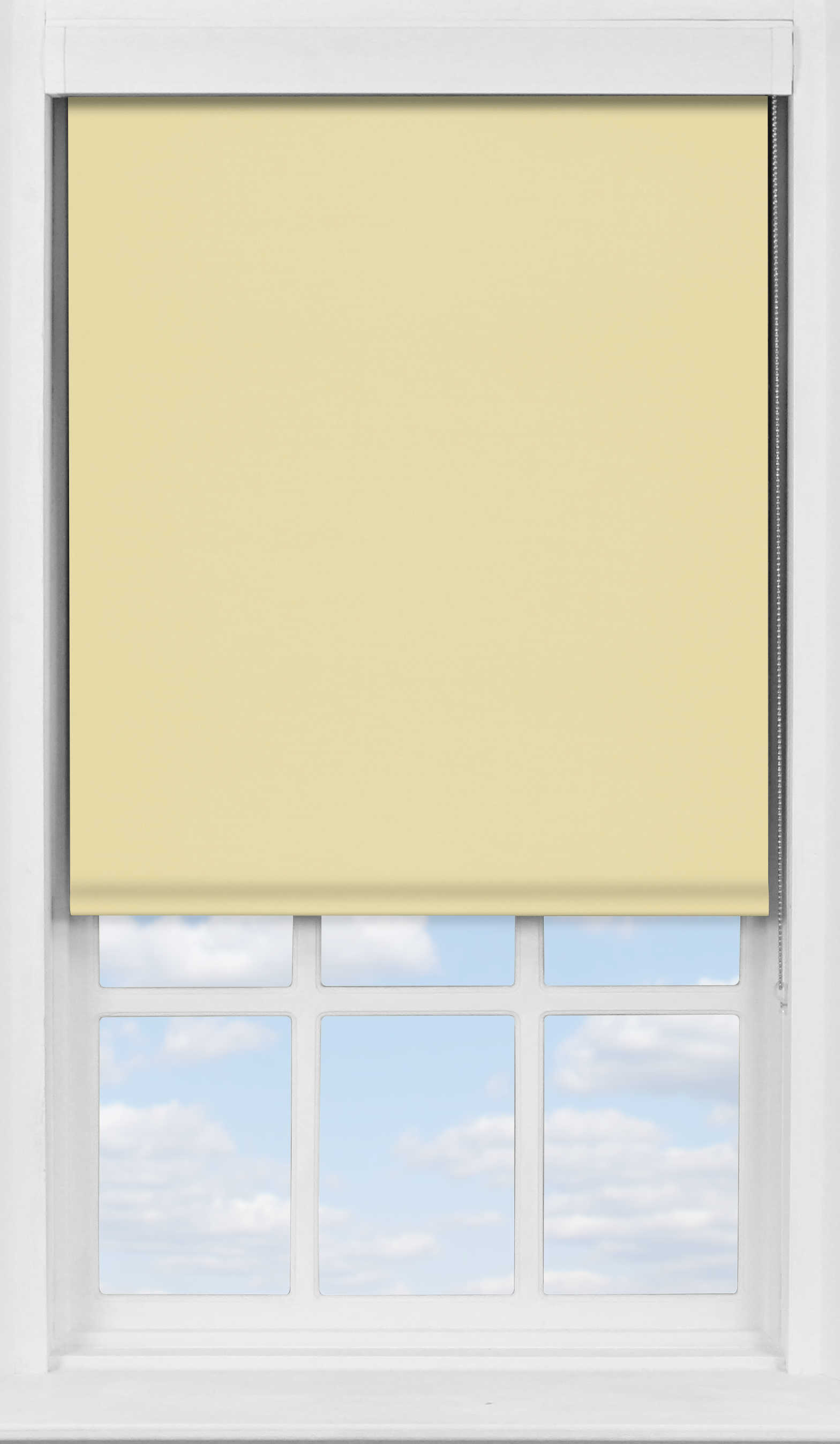 Premium Roller Blind in Sandstone Blackout