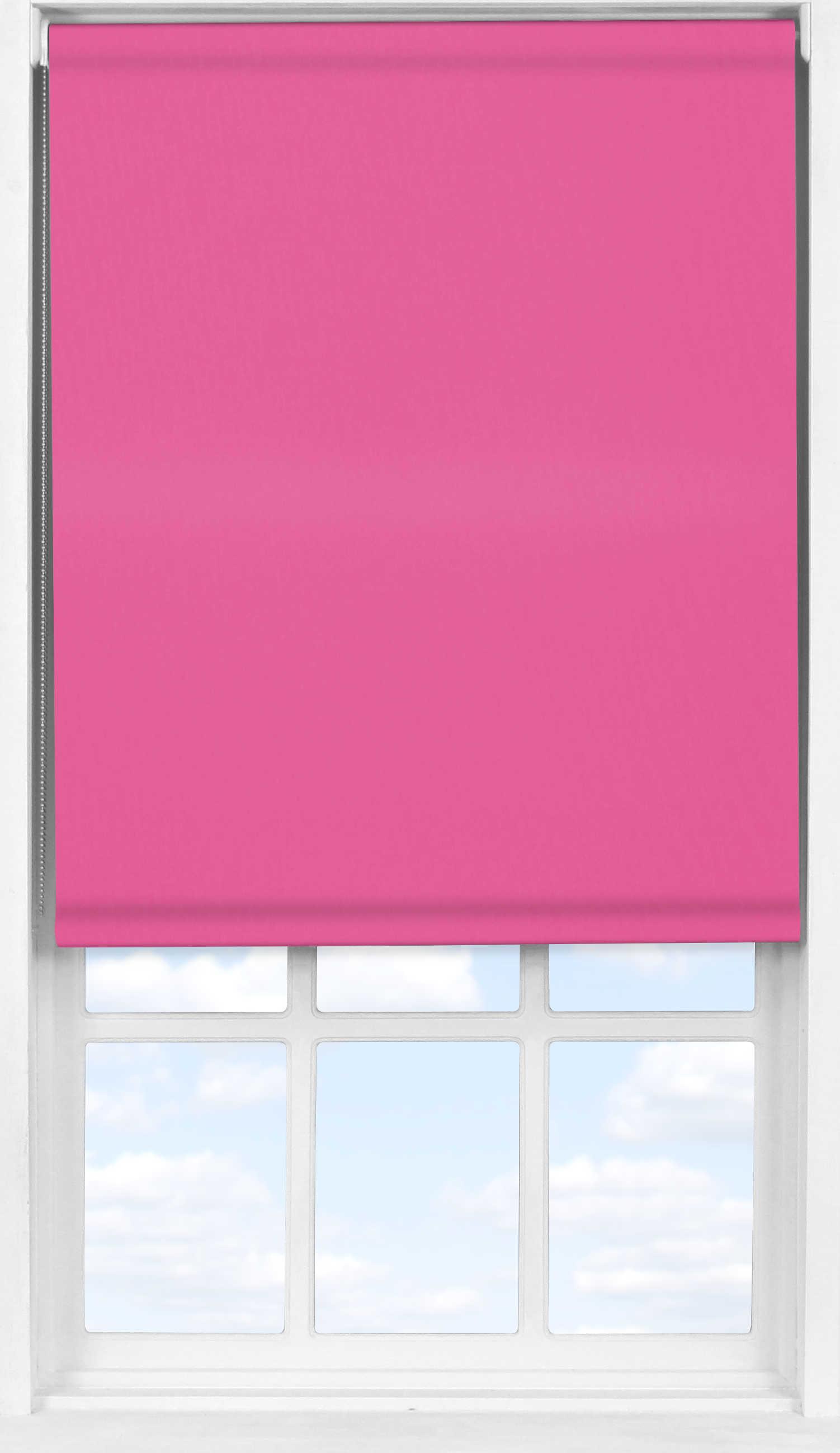 Easifit Roller Blind in Sugar Pink Blackout