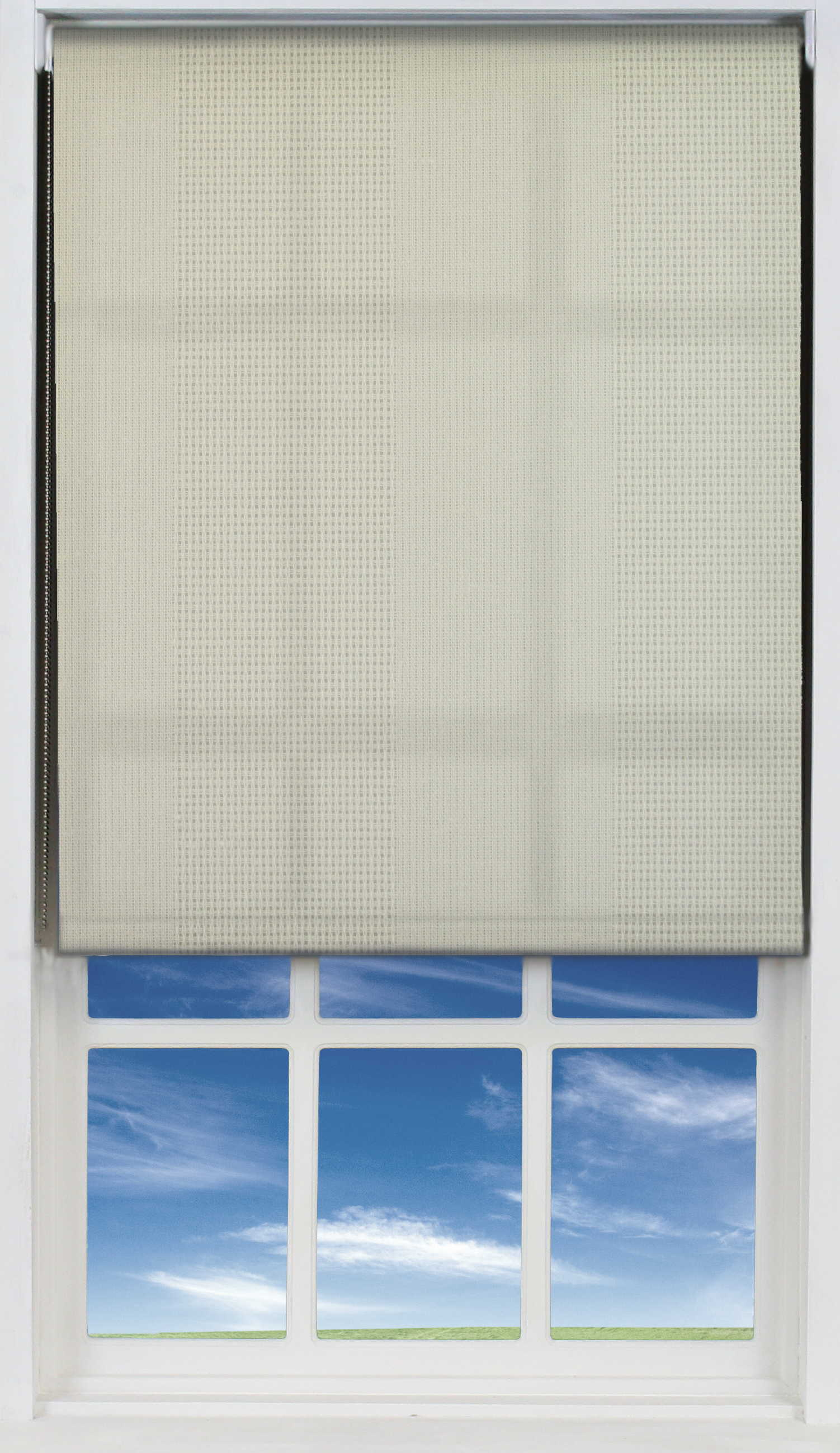 Easifit Roller Blind in Magnolia Cream Translucent