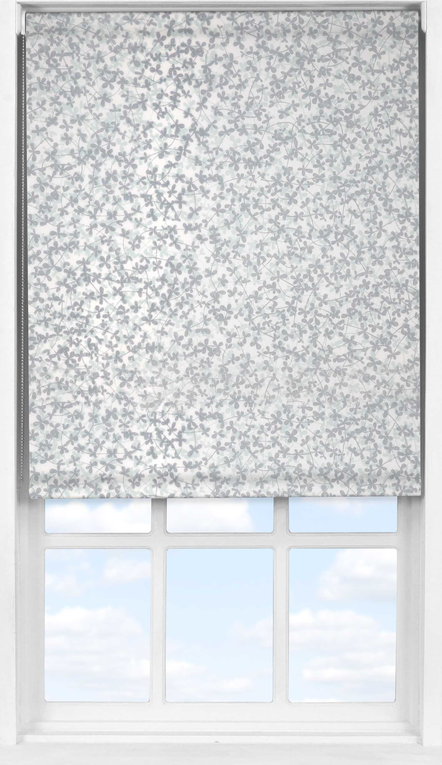 Easifit Roller Blind in Meadow Winter Transparent