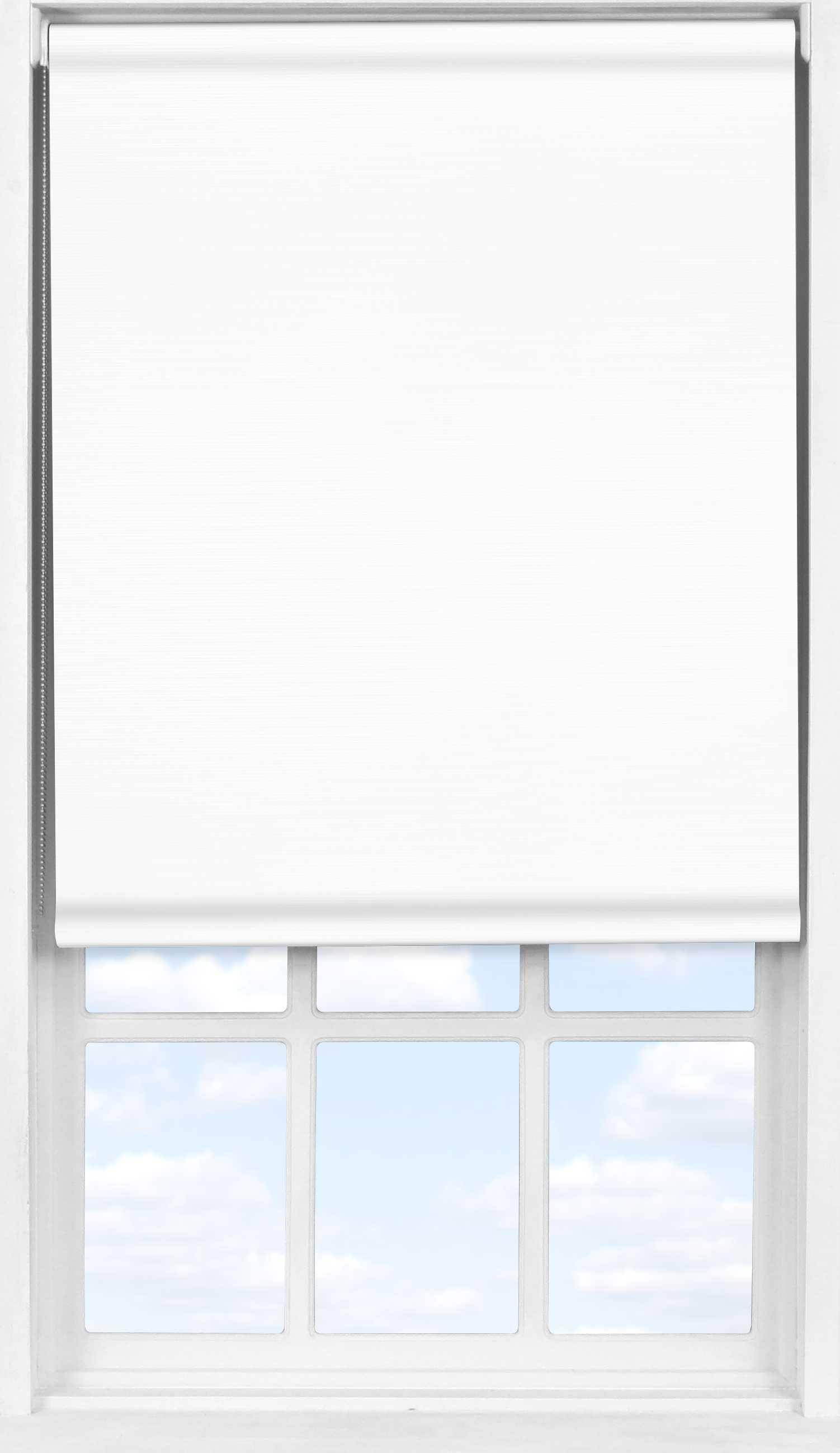 Easifit Roller Blind in Soft White Transparent