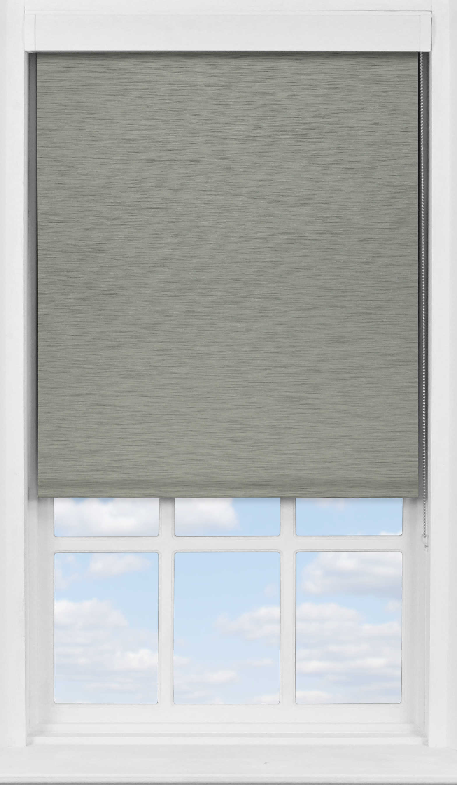 Premium Roller Blind in Horizon Platinum Blackout
