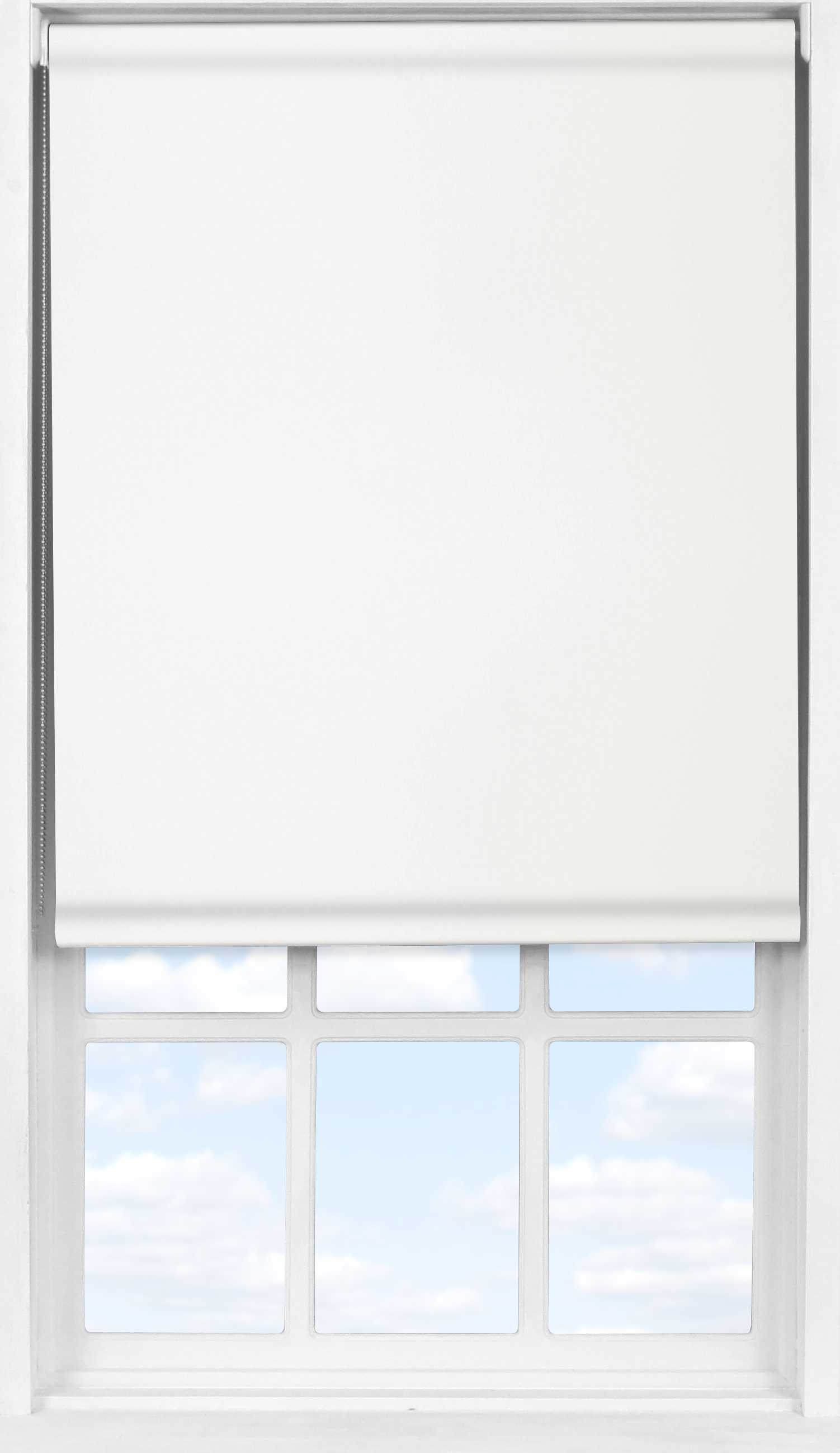 Easifit Roller Blind in Panama White Transparent