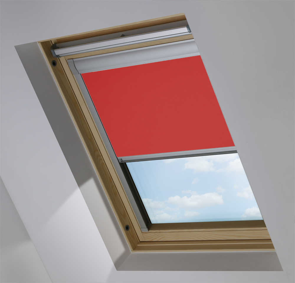 Made-To-Measure Premium Skylight Blind in Soft Plum Translucent