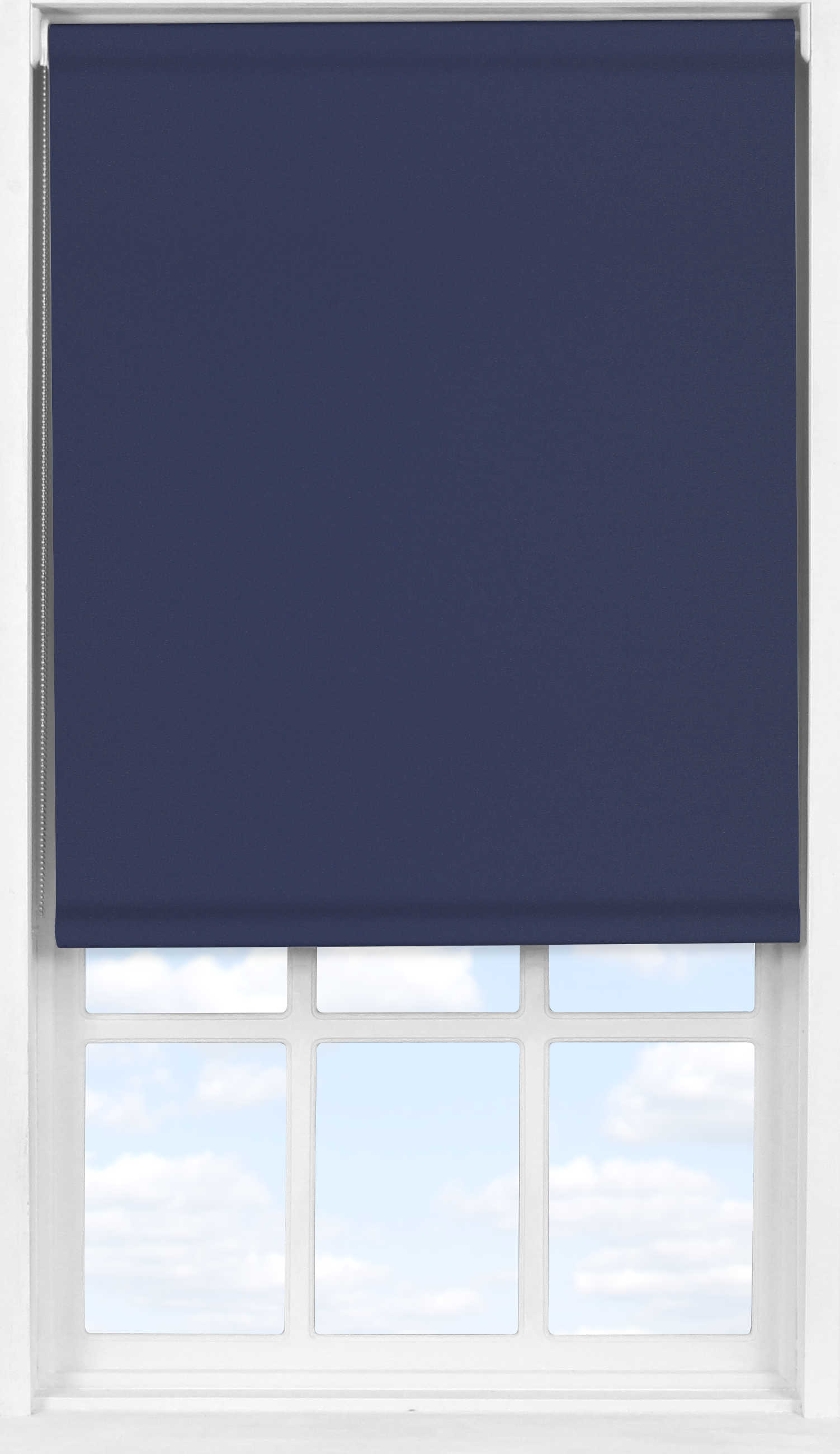 Easifit Roller Blind in Midnight Blue Translucent