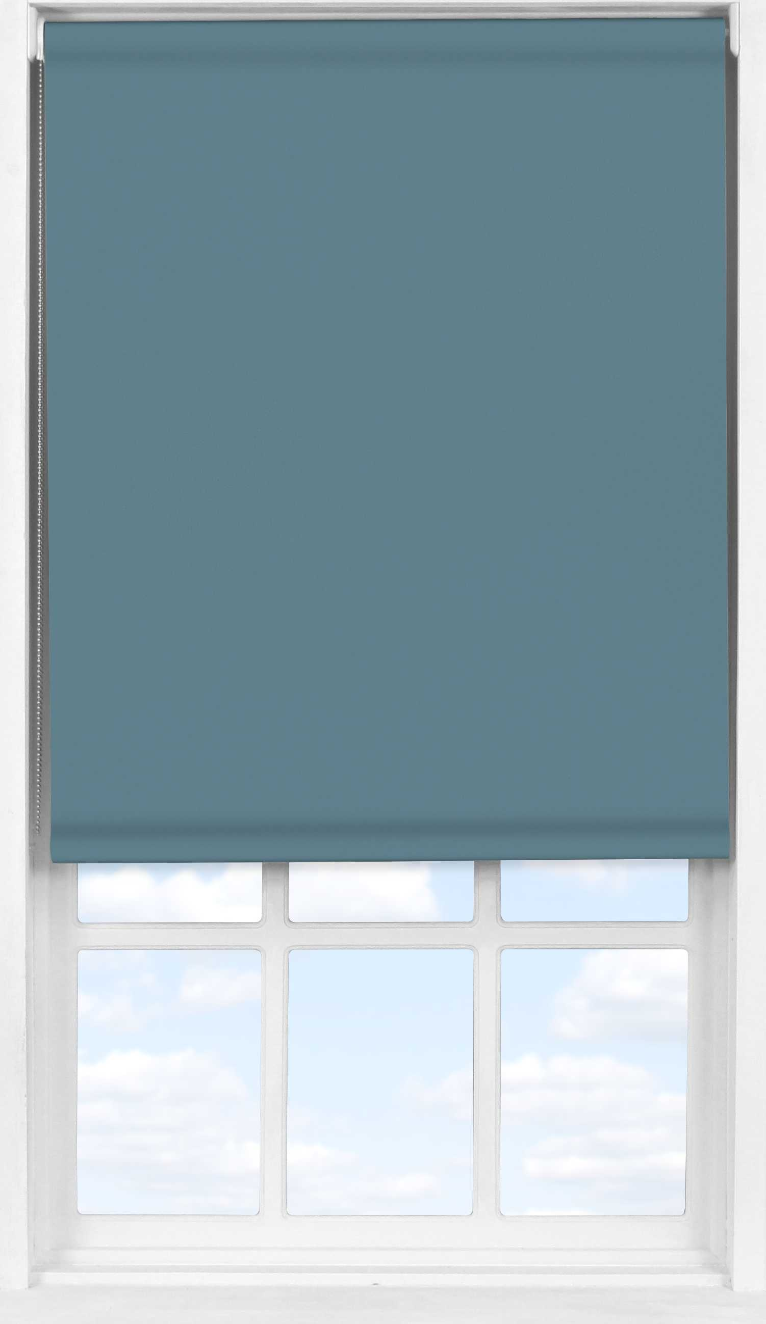 Easifit Roller Blind in Classic Blue Translucent