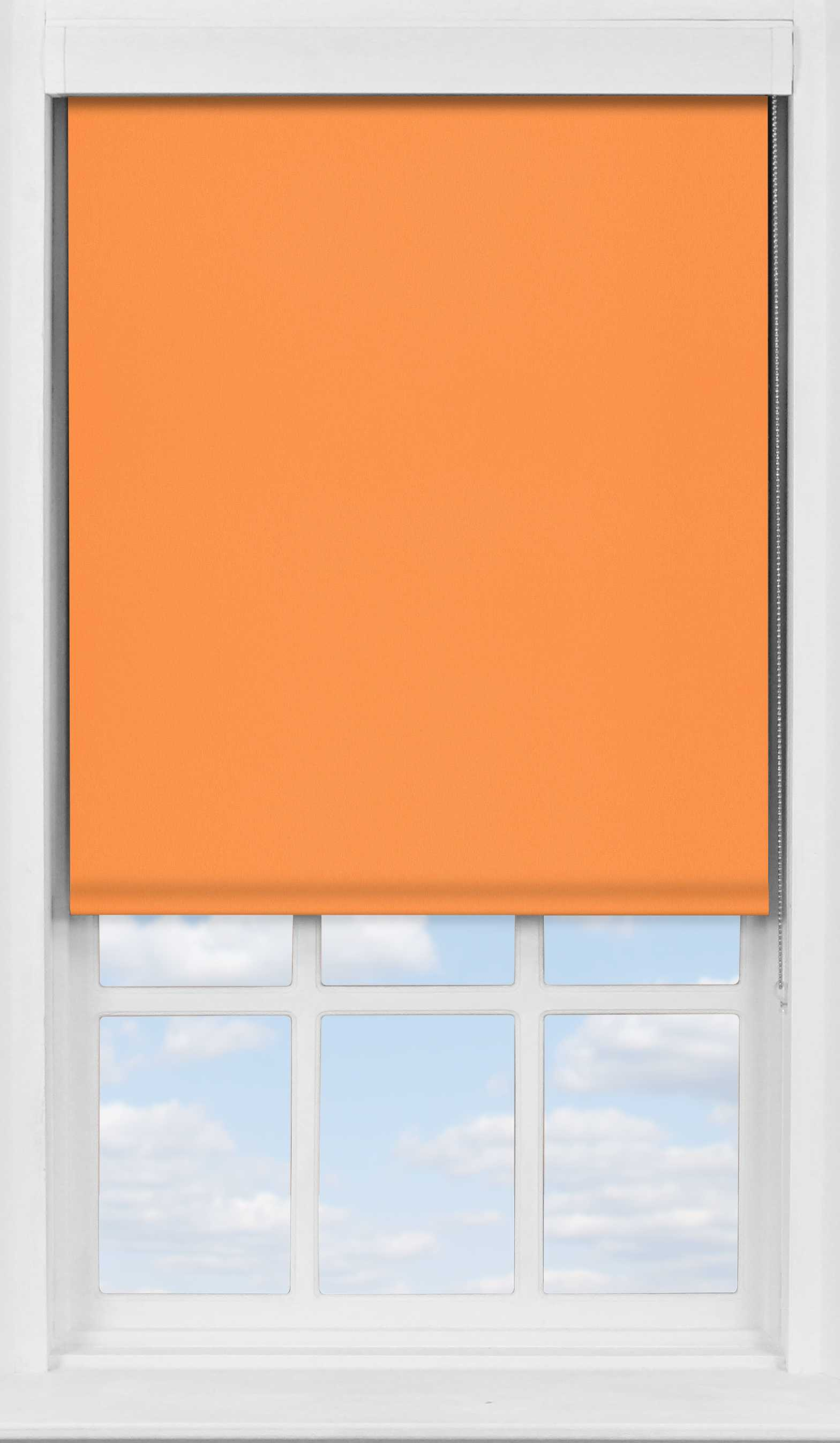 Premium Roller Blind in Amber Sunset Translucent