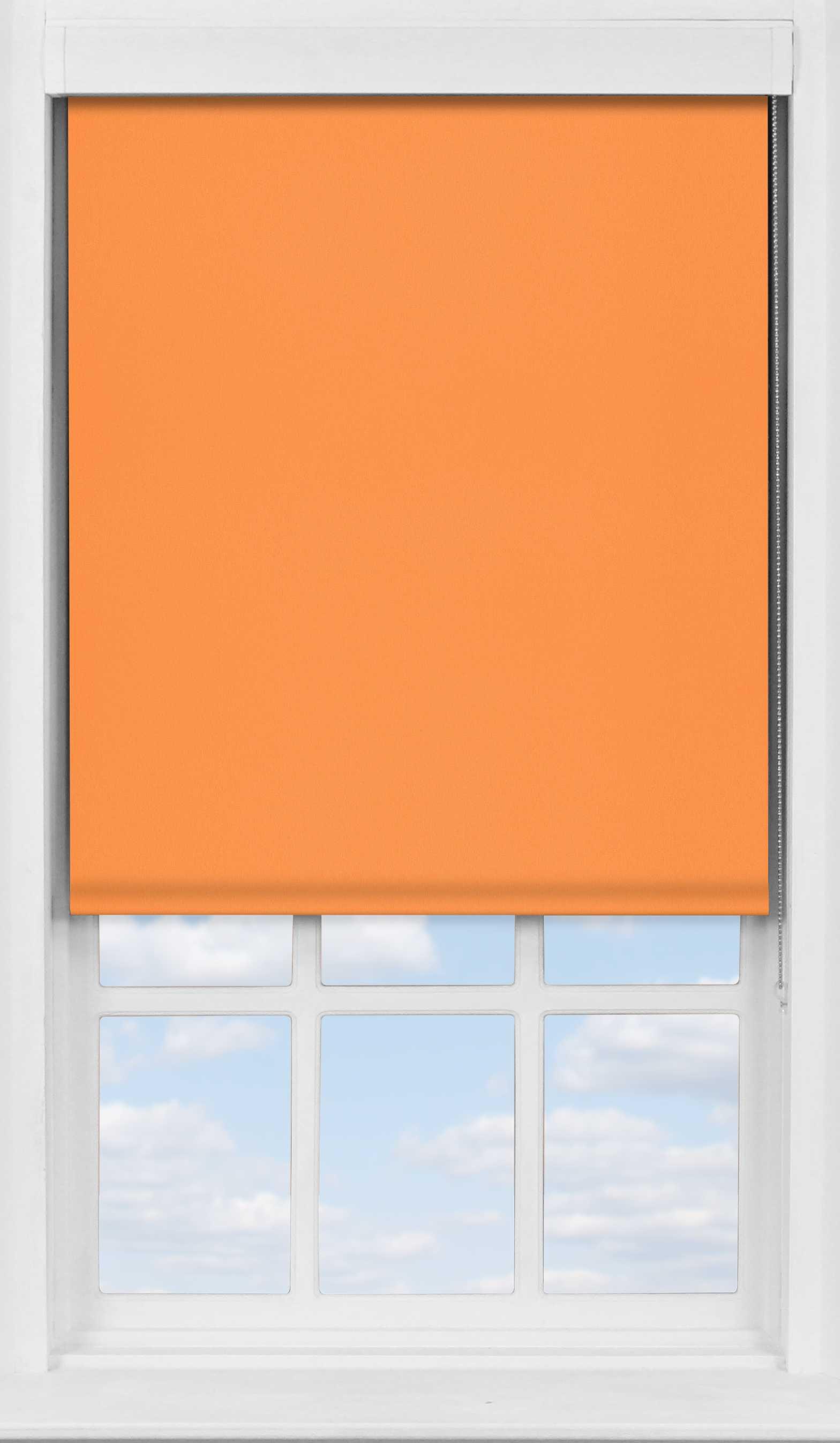 Premium Roller Blind in Amber Sunset Translucent