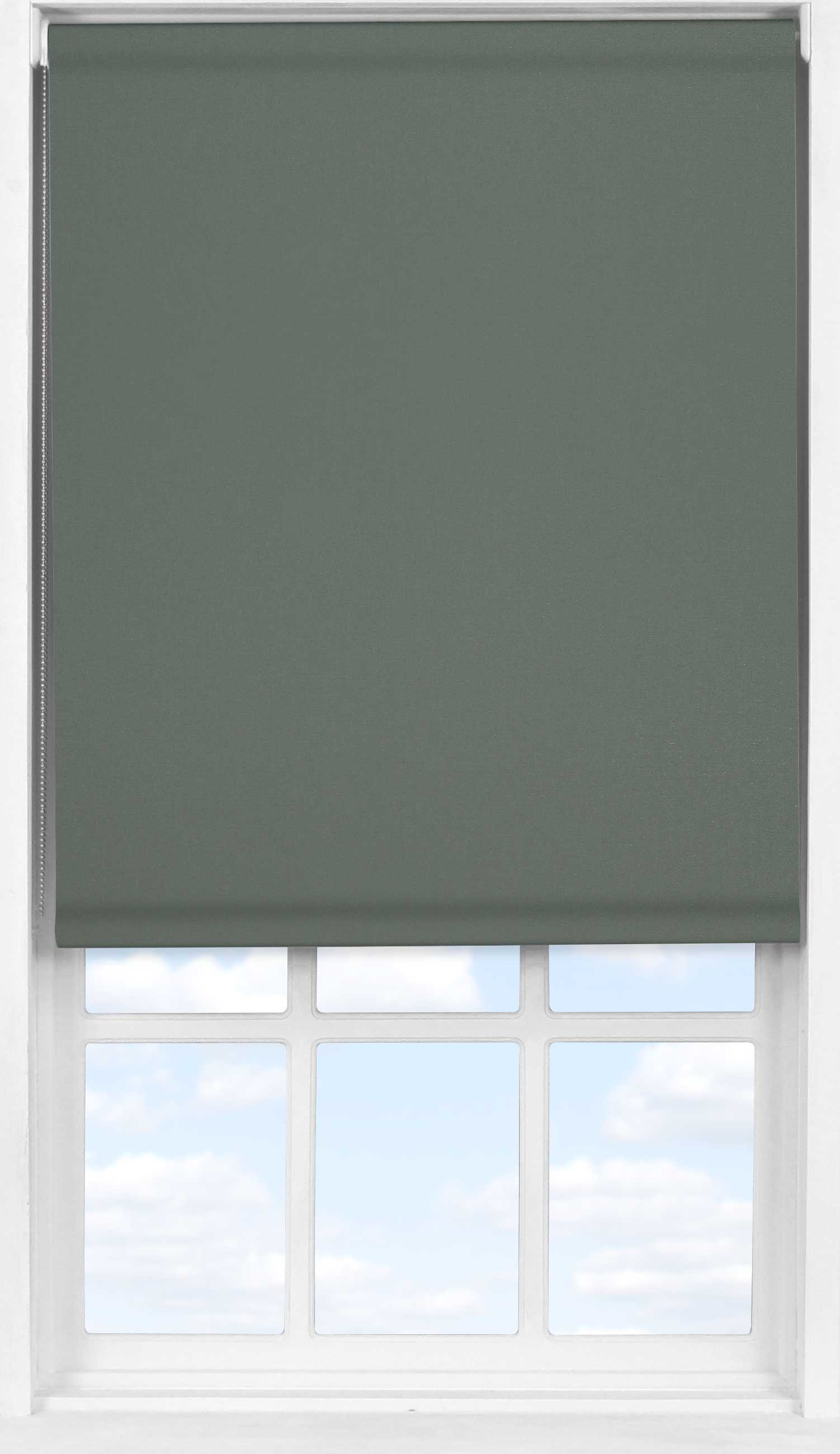 Easifit Roller Blind in Smouldering Charcoal Translucent