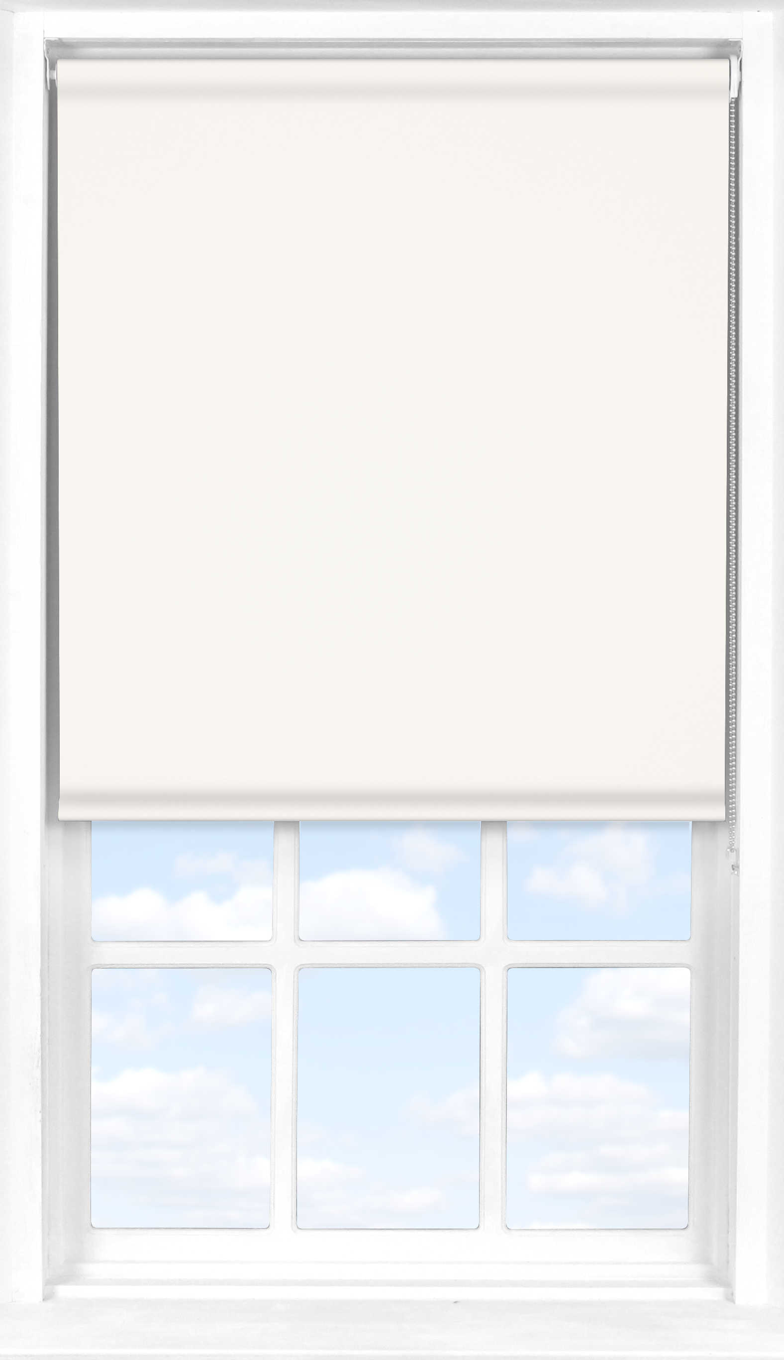 Roller Blind in Snowdrop Blackout