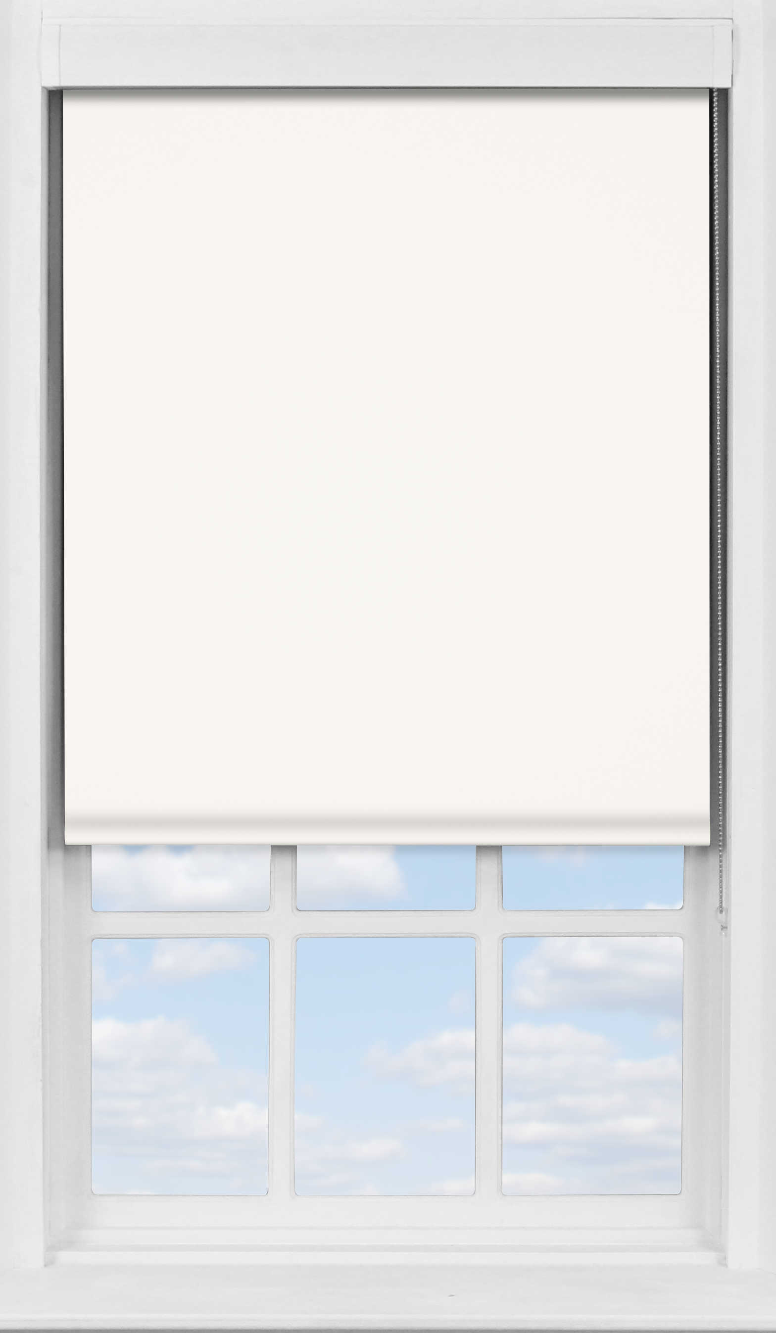 Premium Roller Blind in Snowdrop Blackout