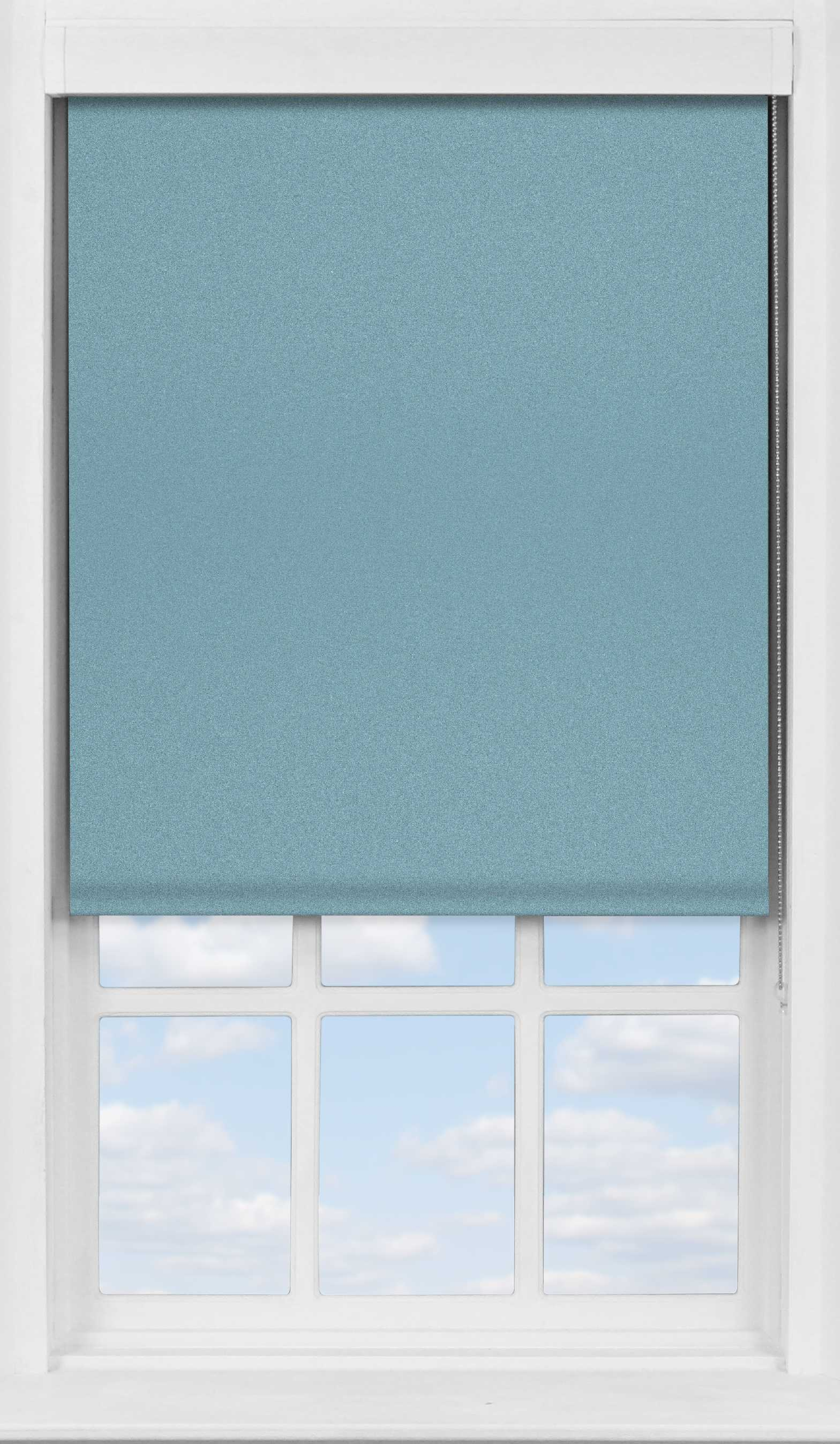 Premium Roller Blind in Soft Sky Blackout
