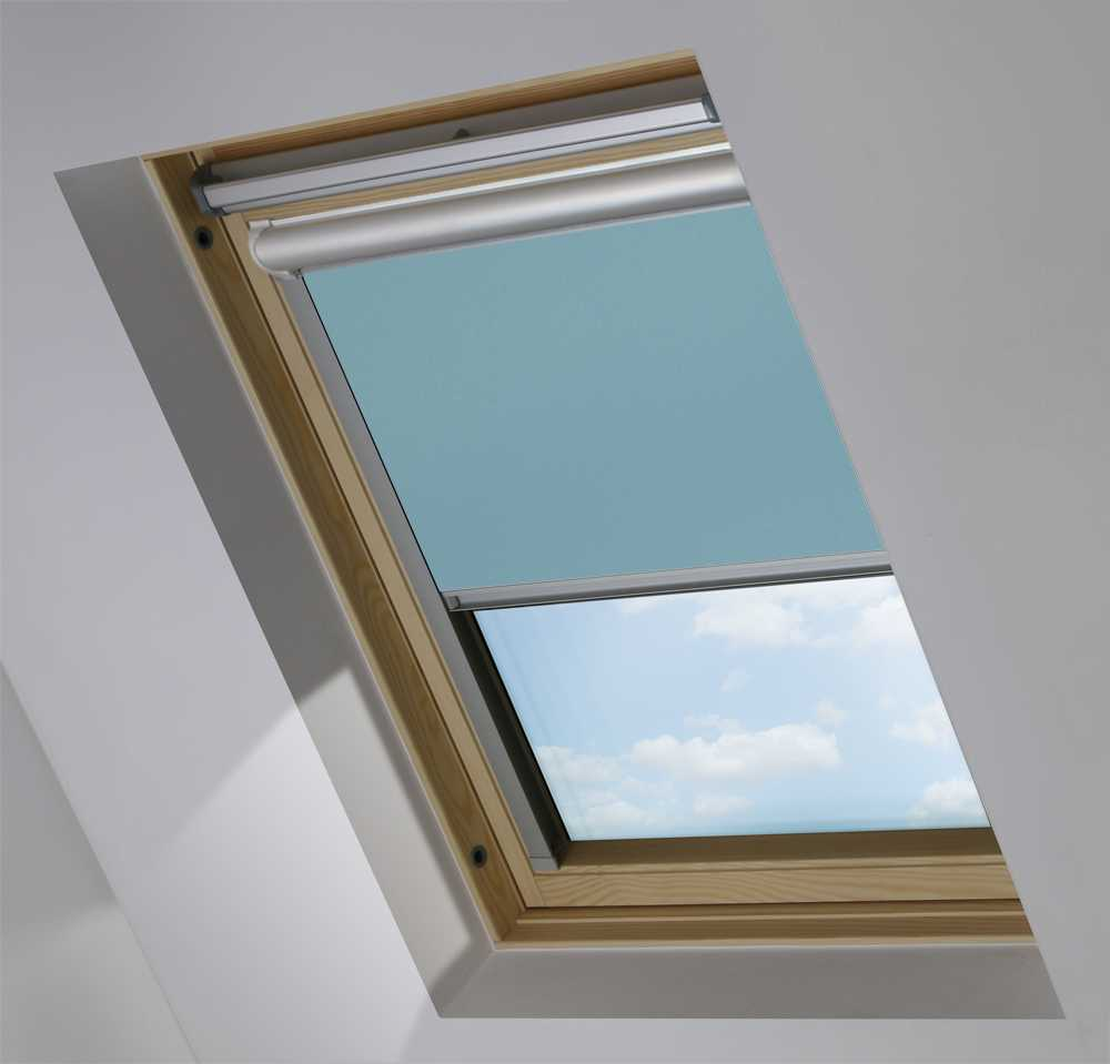 Solar Skylight Blinds to Suit FAKRO® Windows in Soft Sky Blackout