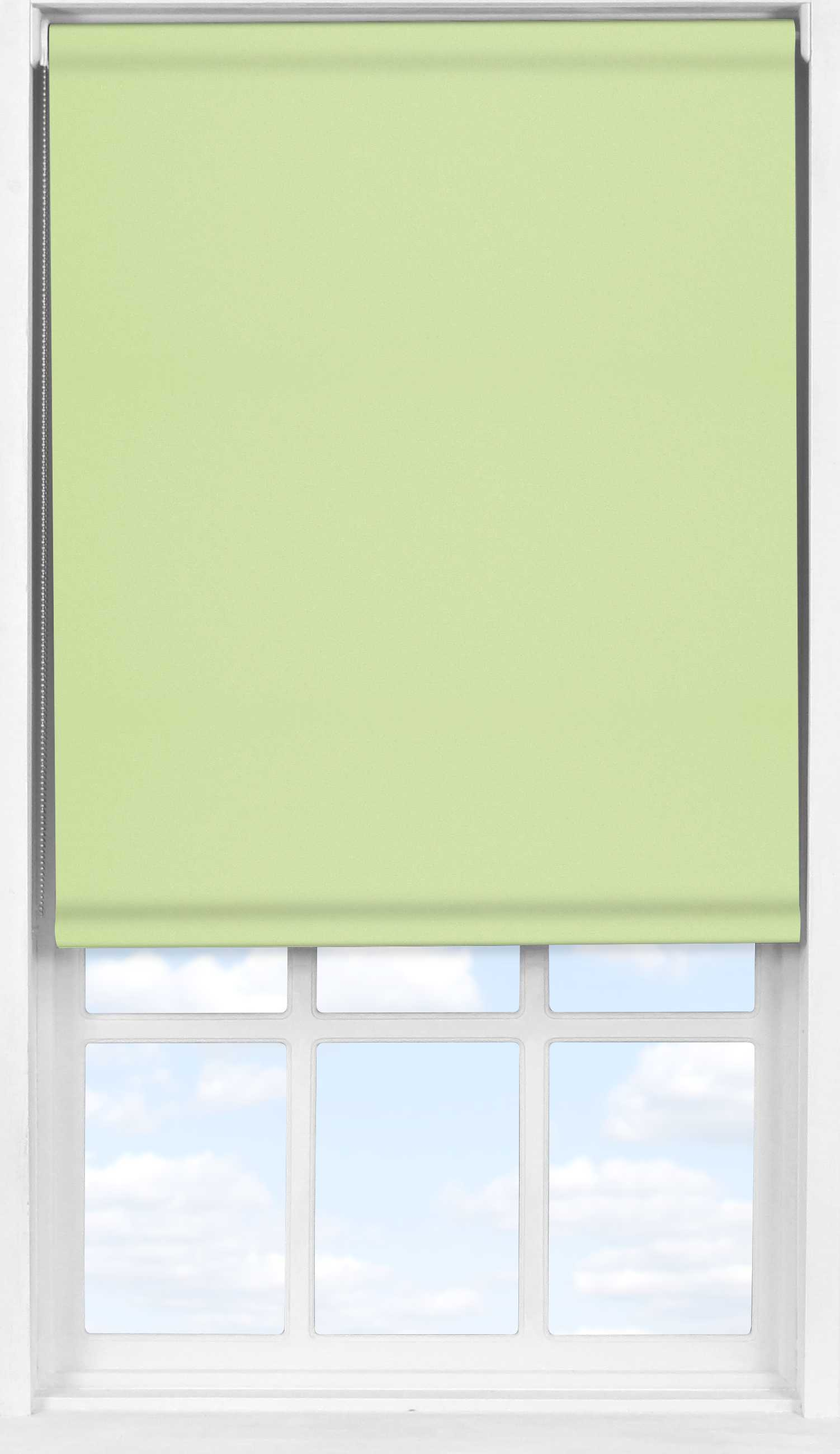 Easifit Roller Blind in Light Green Blackout
