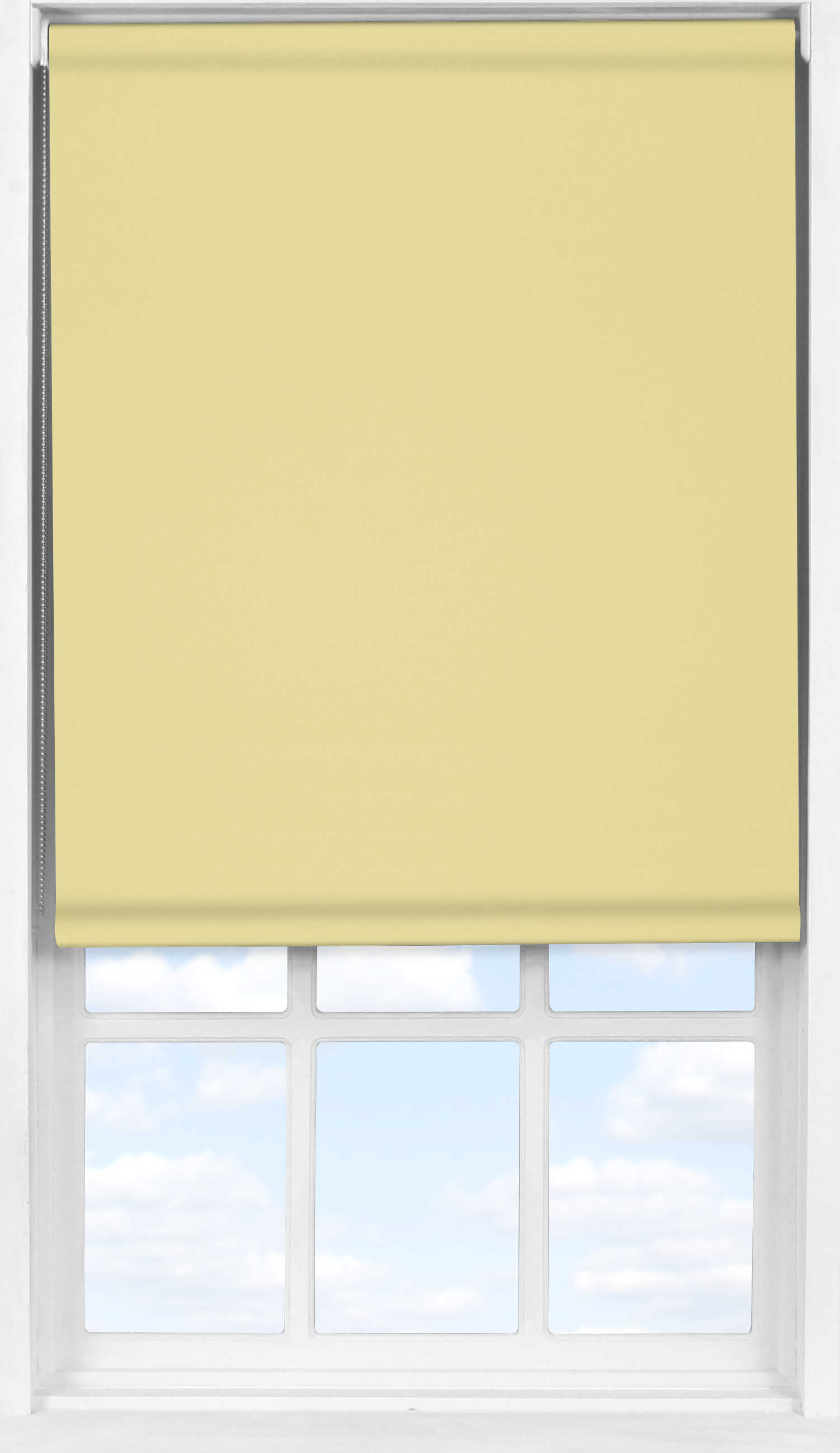 Easifit Roller Blind in Daffodil Yellow Blackout