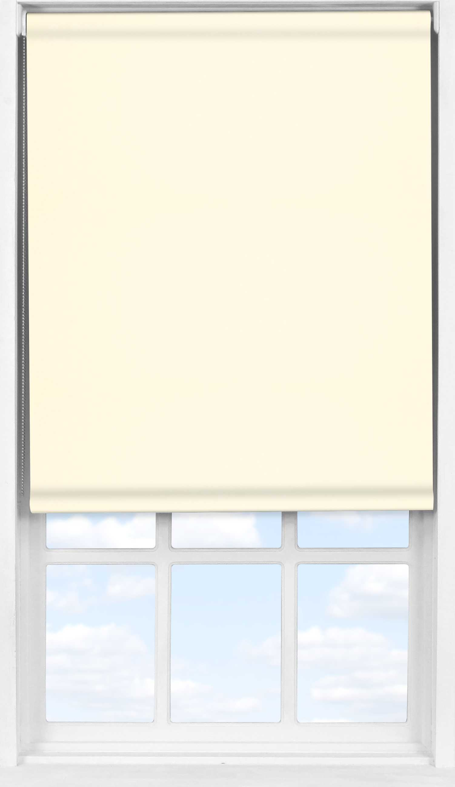 Easifit Roller Blind in Delicate Cream Blackout