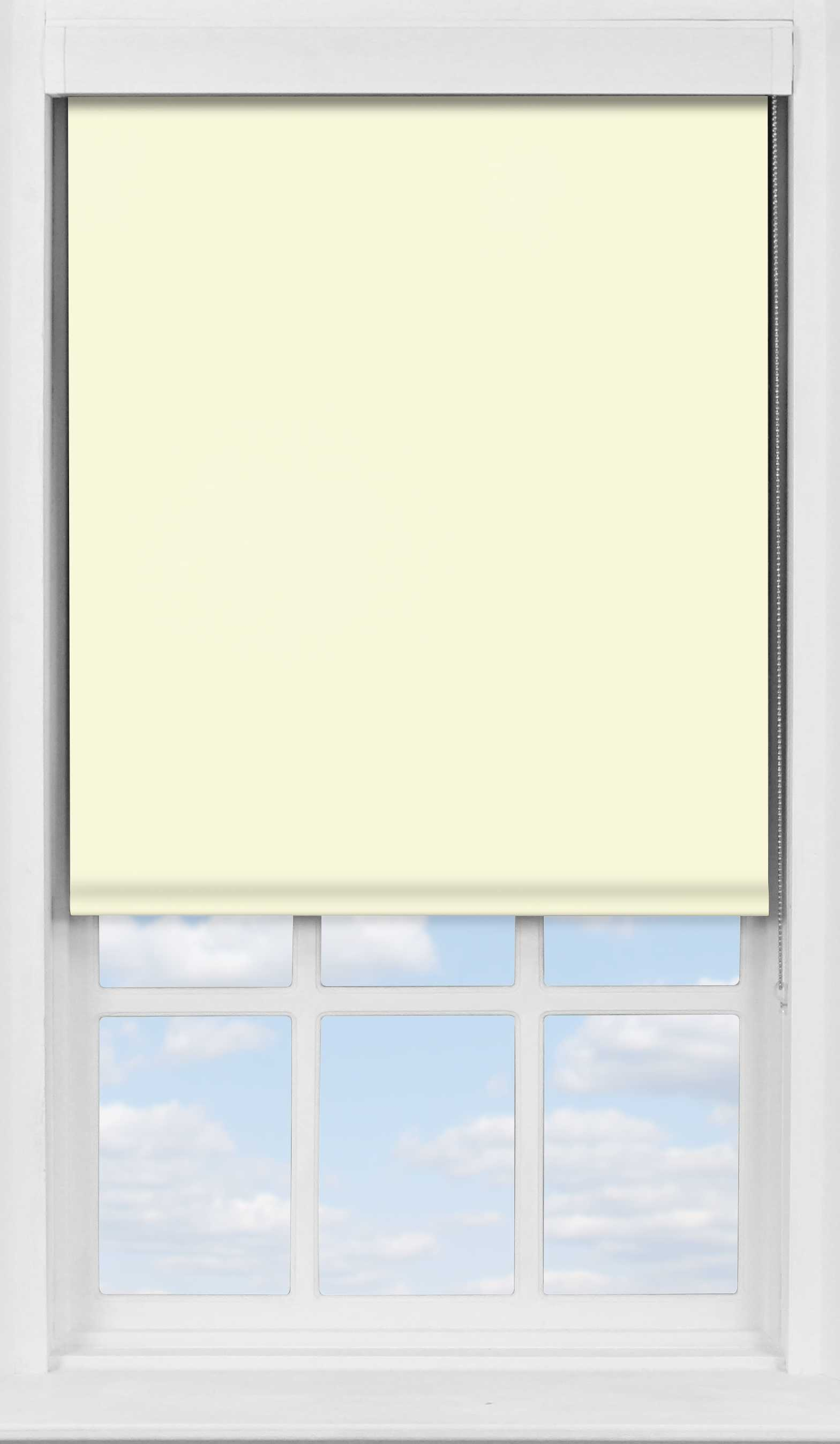 Premium Roller Blind in Latte Blackout