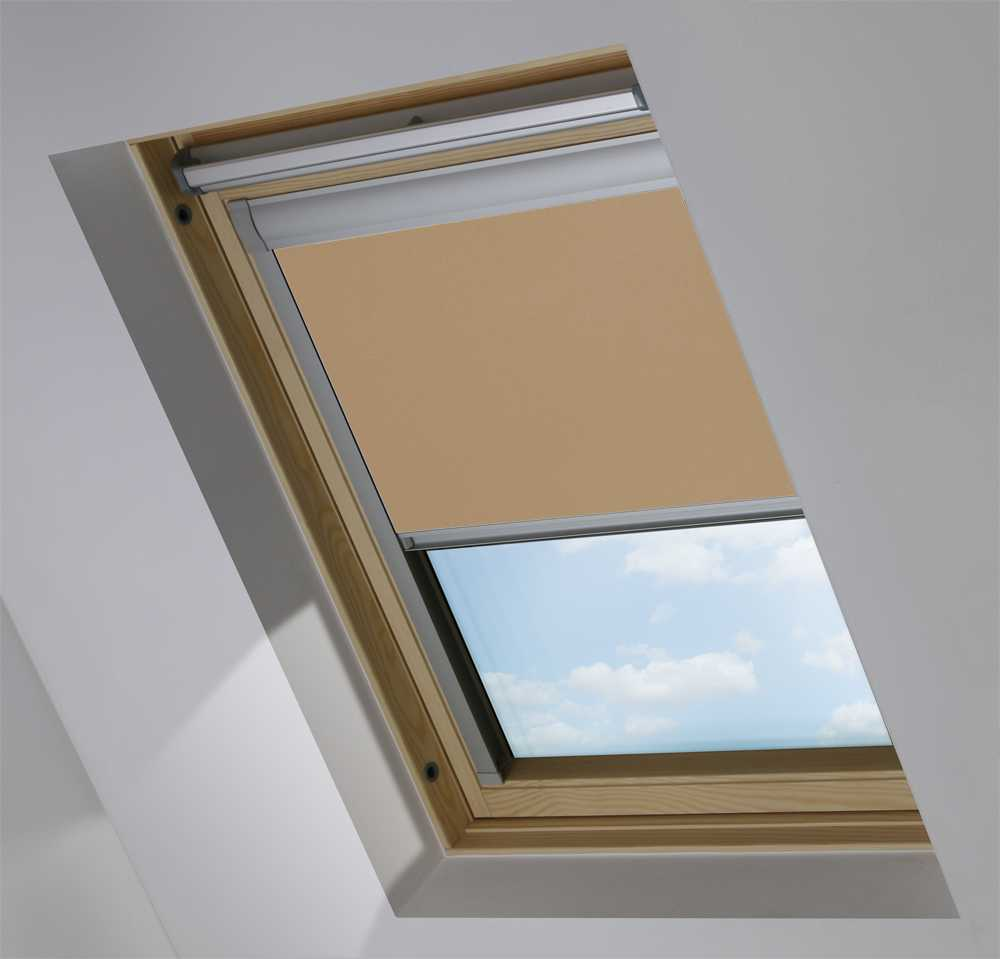 Skylight Blinds to Suit OKPOL® Windows in Turf Blackout