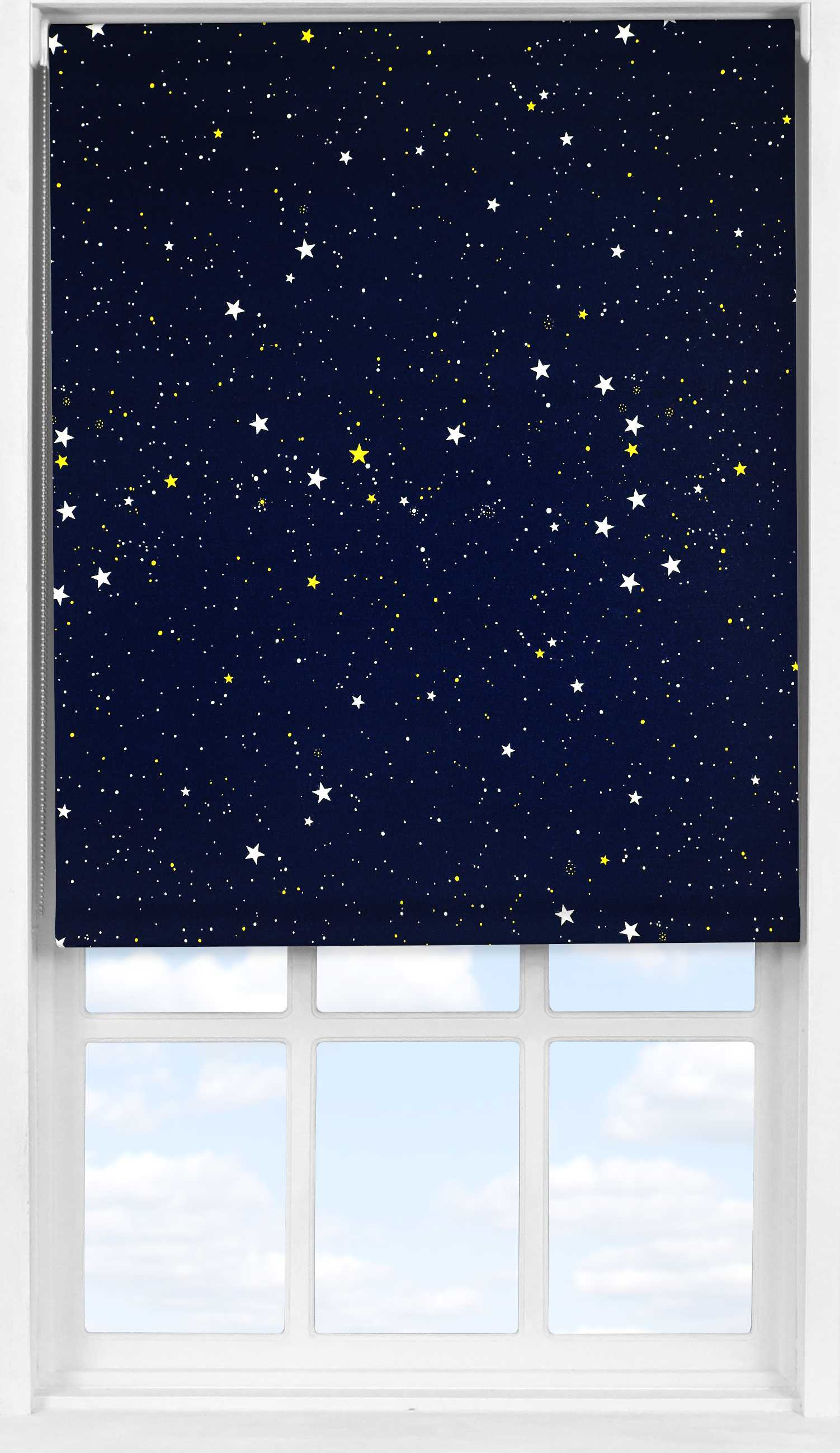Easifit Roller Blind in Night Sky Blackout