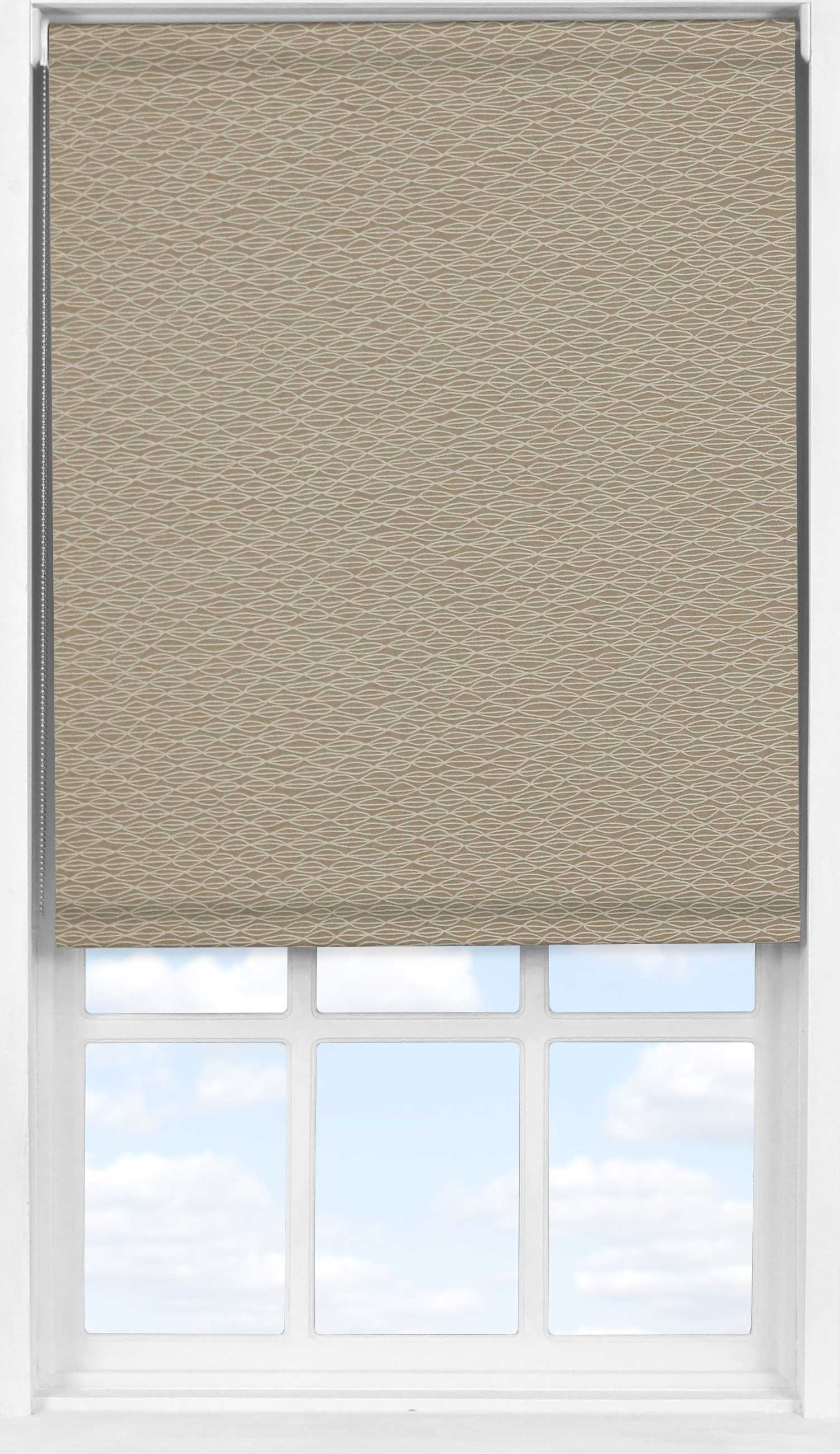Easifit Roller Blind in Natural Shell Transparent