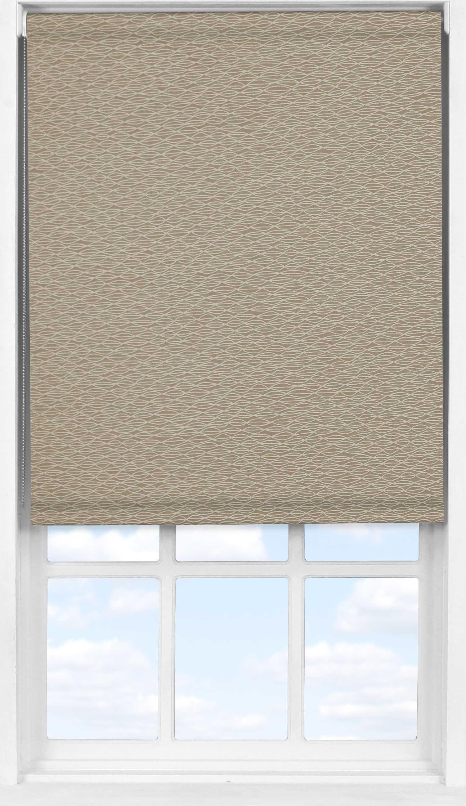 Easifit Roller Blind in Natural Shell Transparent