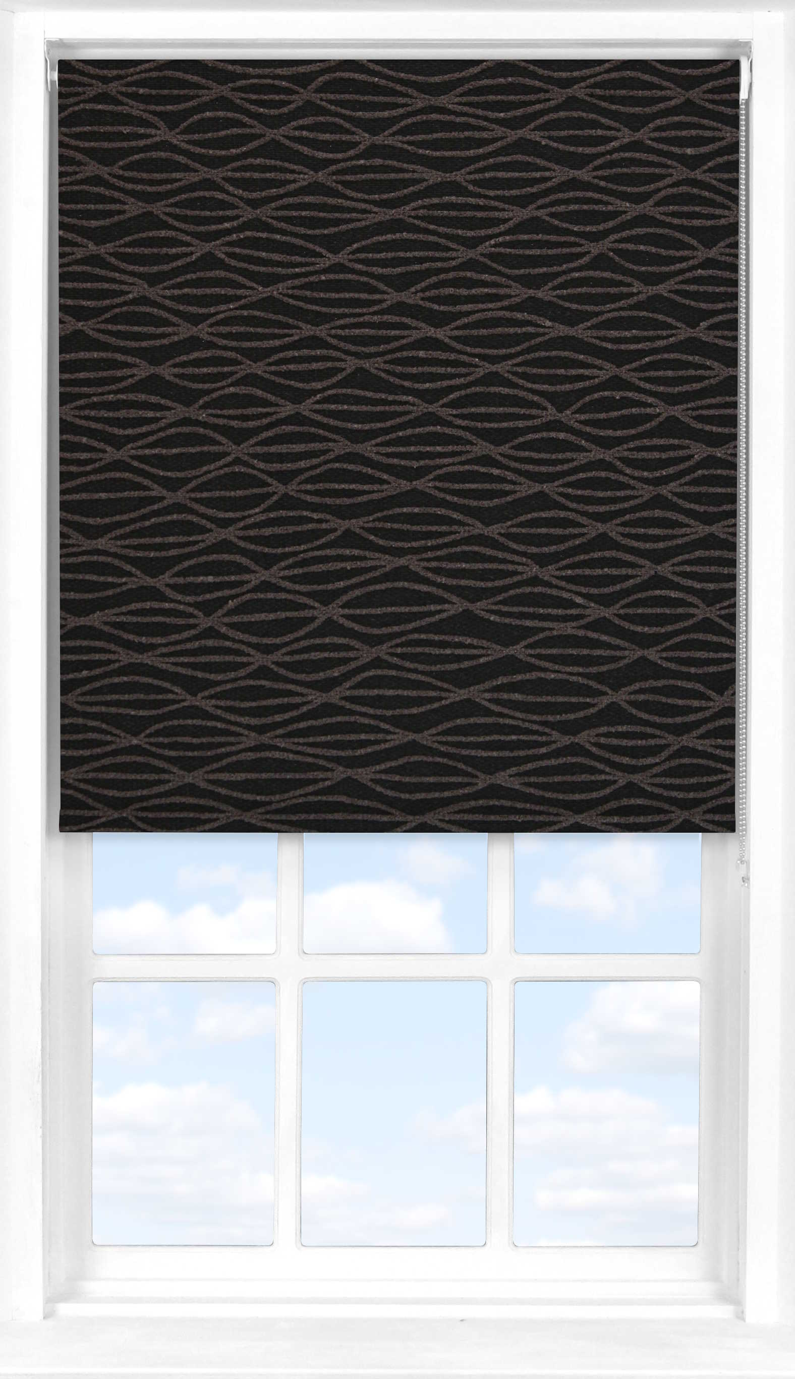 Roller Blind in Dusk Transparent