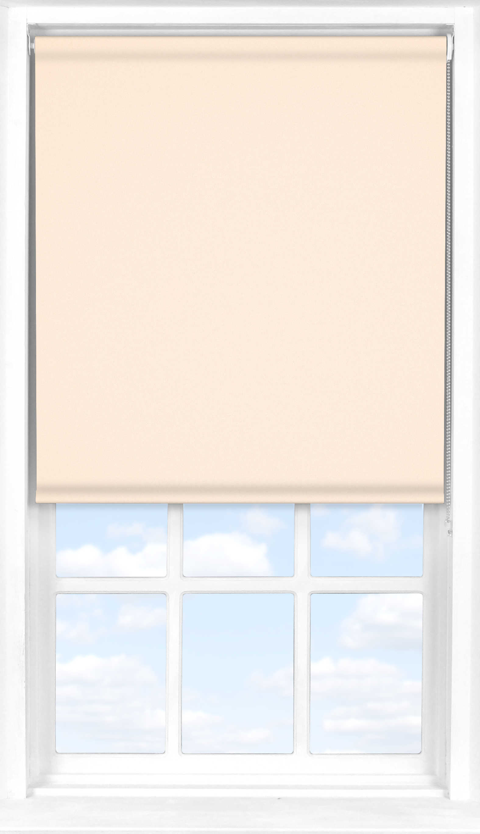Roller Blind in Shell Translucent
