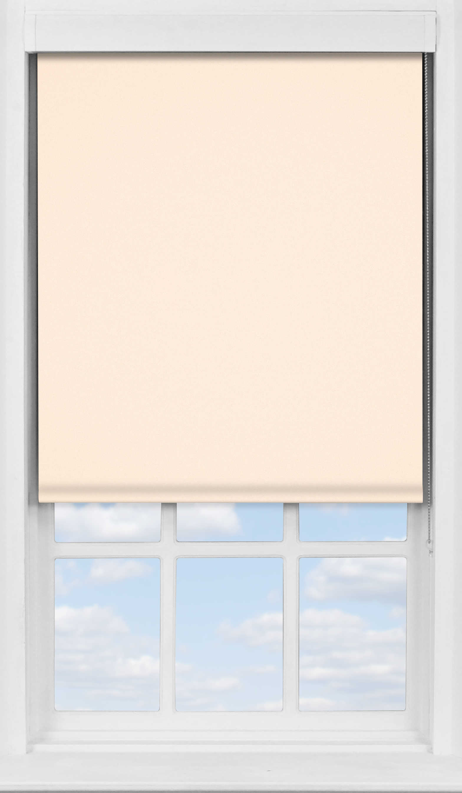 Premium Roller Blind in Shell Translucent