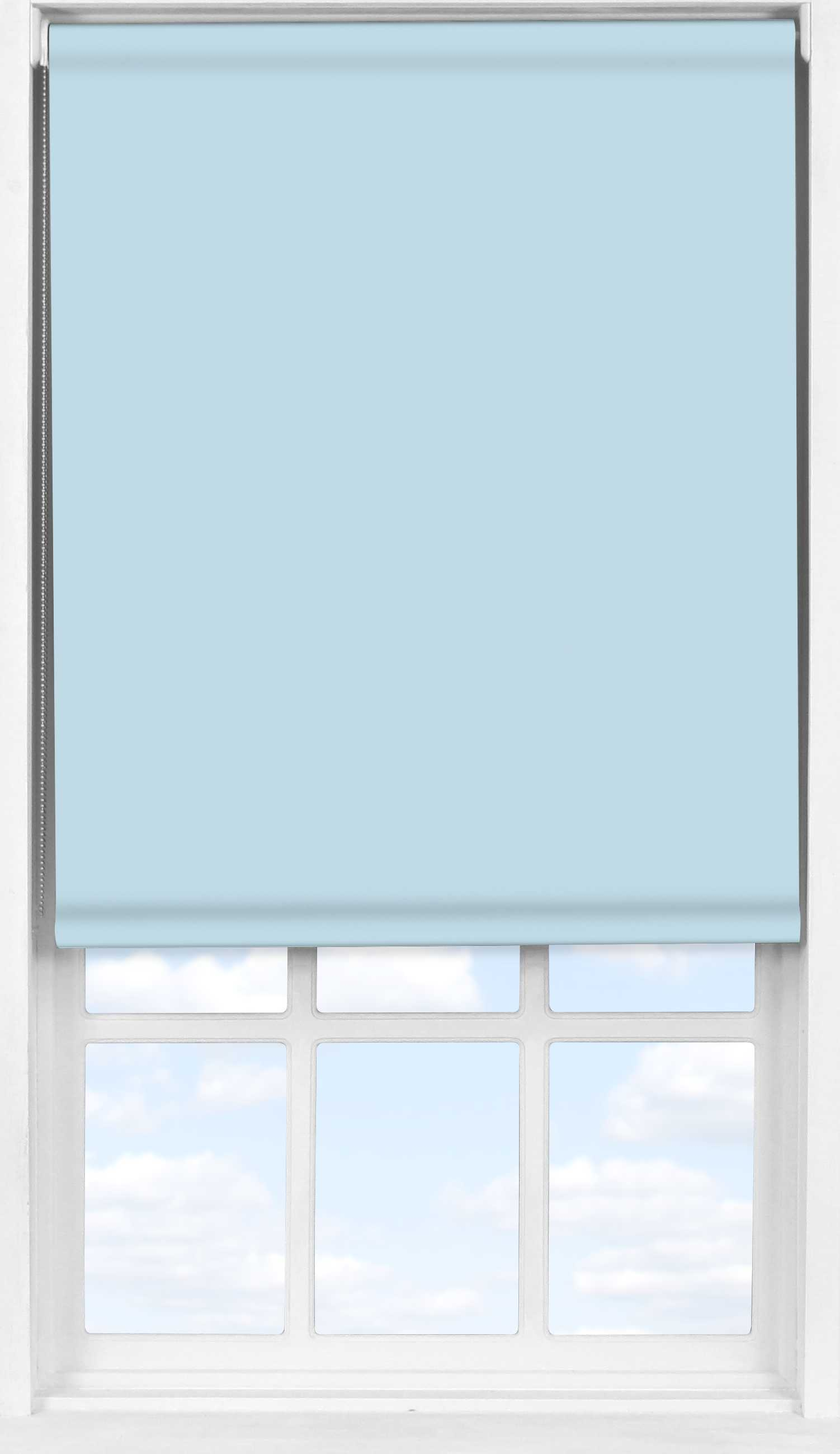 Easifit Roller Blind in Smokey Blue Translucent