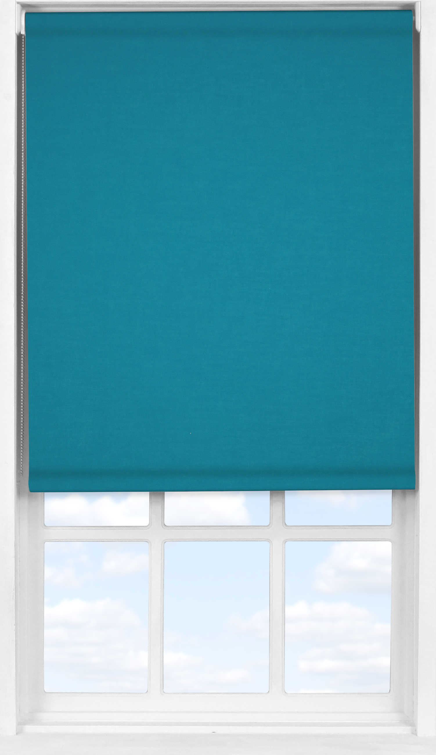 Easifit Roller Blind in Marine Blue Translucent