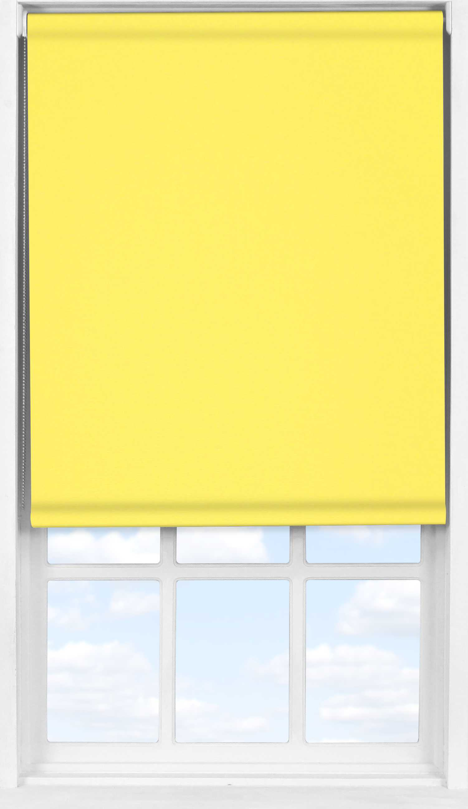 Easifit Roller Blind in Canary Yellow Translucent
