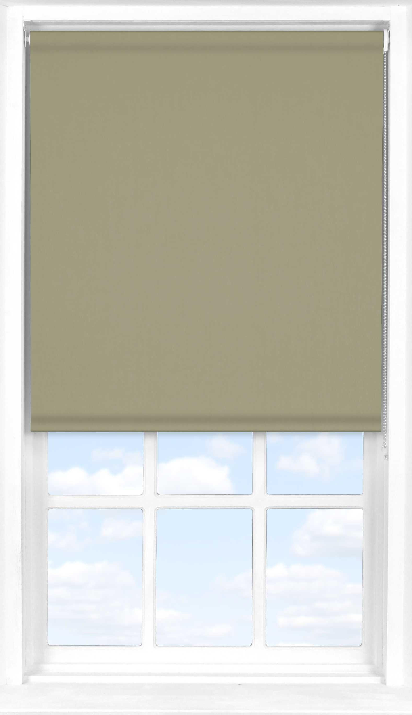 Roller Blind in Pale Oak Translucent