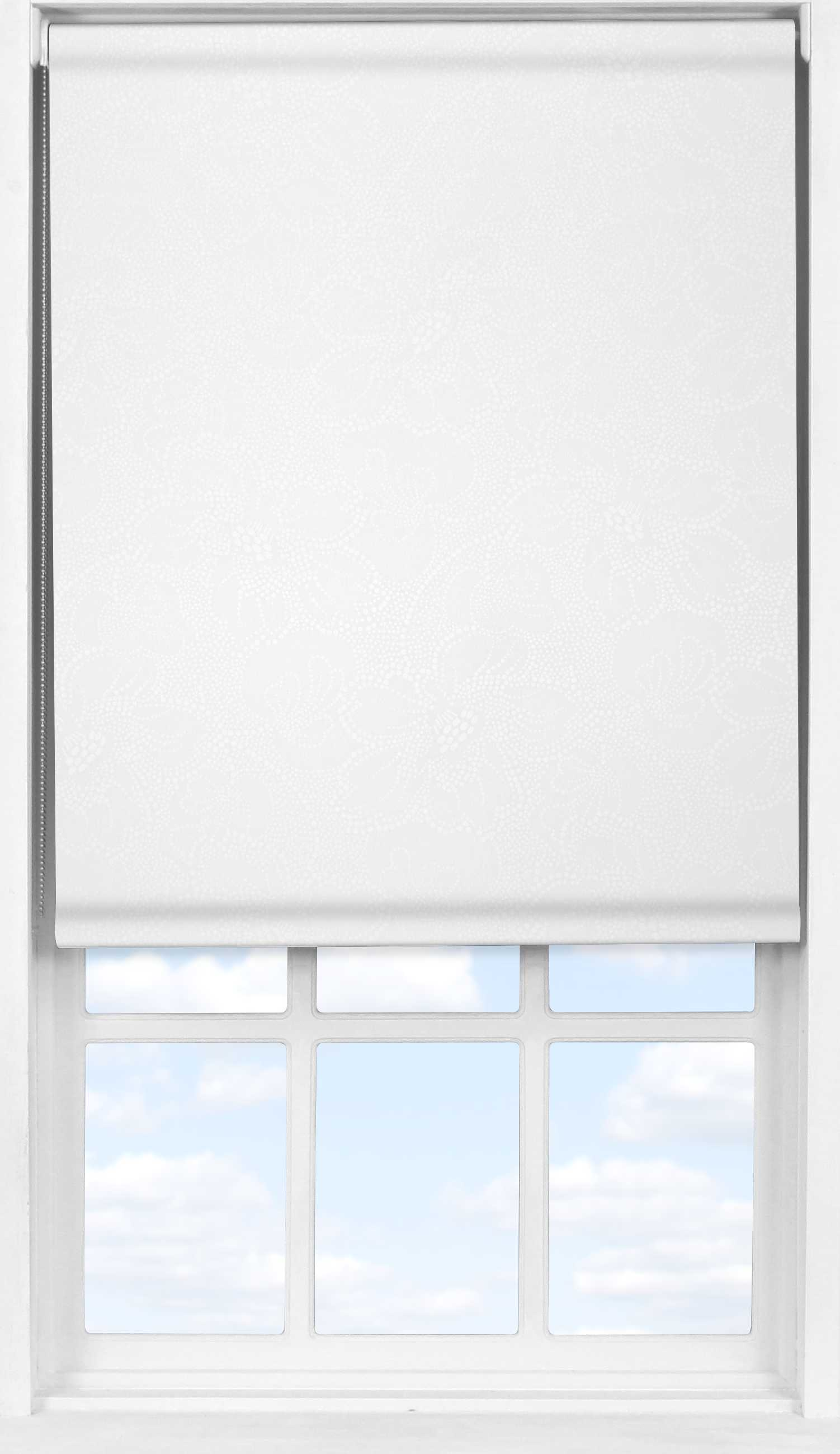 Easifit Roller Blind in Lilly WhiteTranslucent