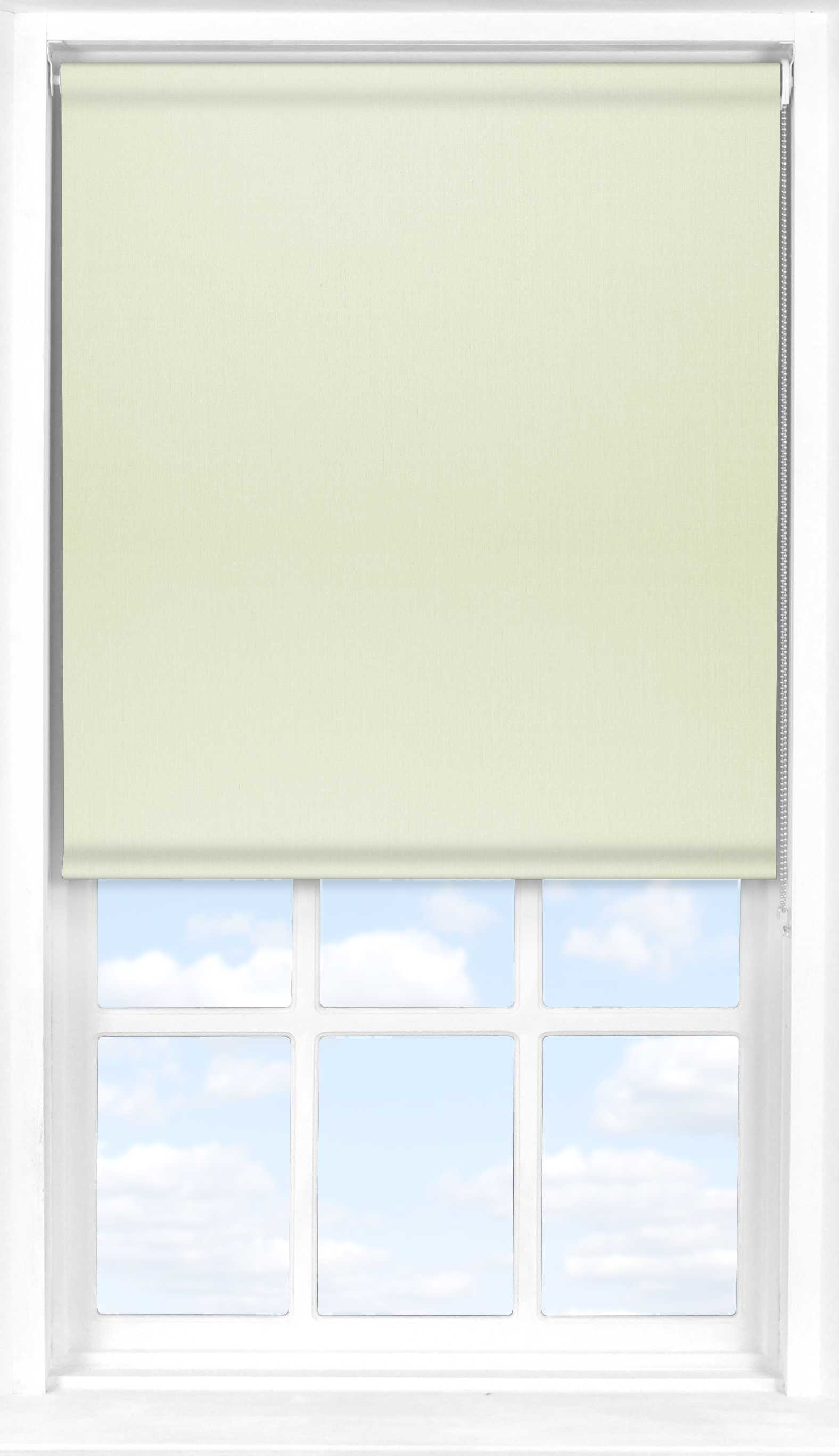 Motorised Roller Blind in Desert Cream Translucent