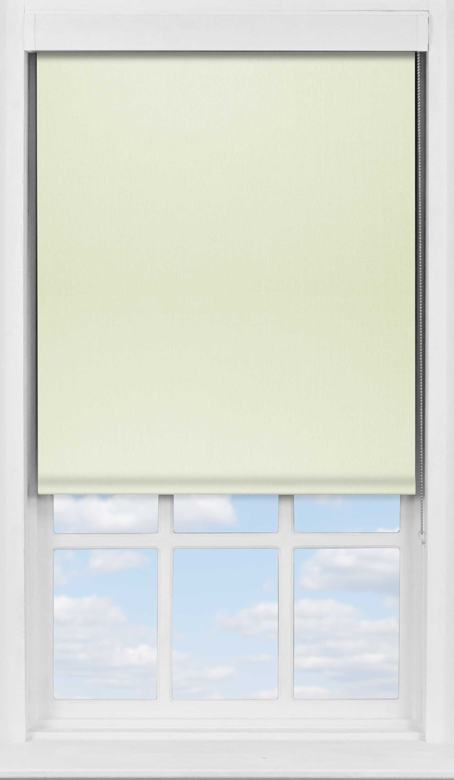 Premium Roller Blind in Desert Cream Translucent