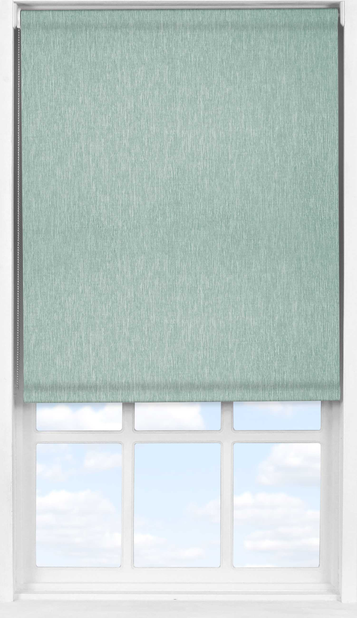 Easifit Roller Blind in Brushed Platinum Blackout