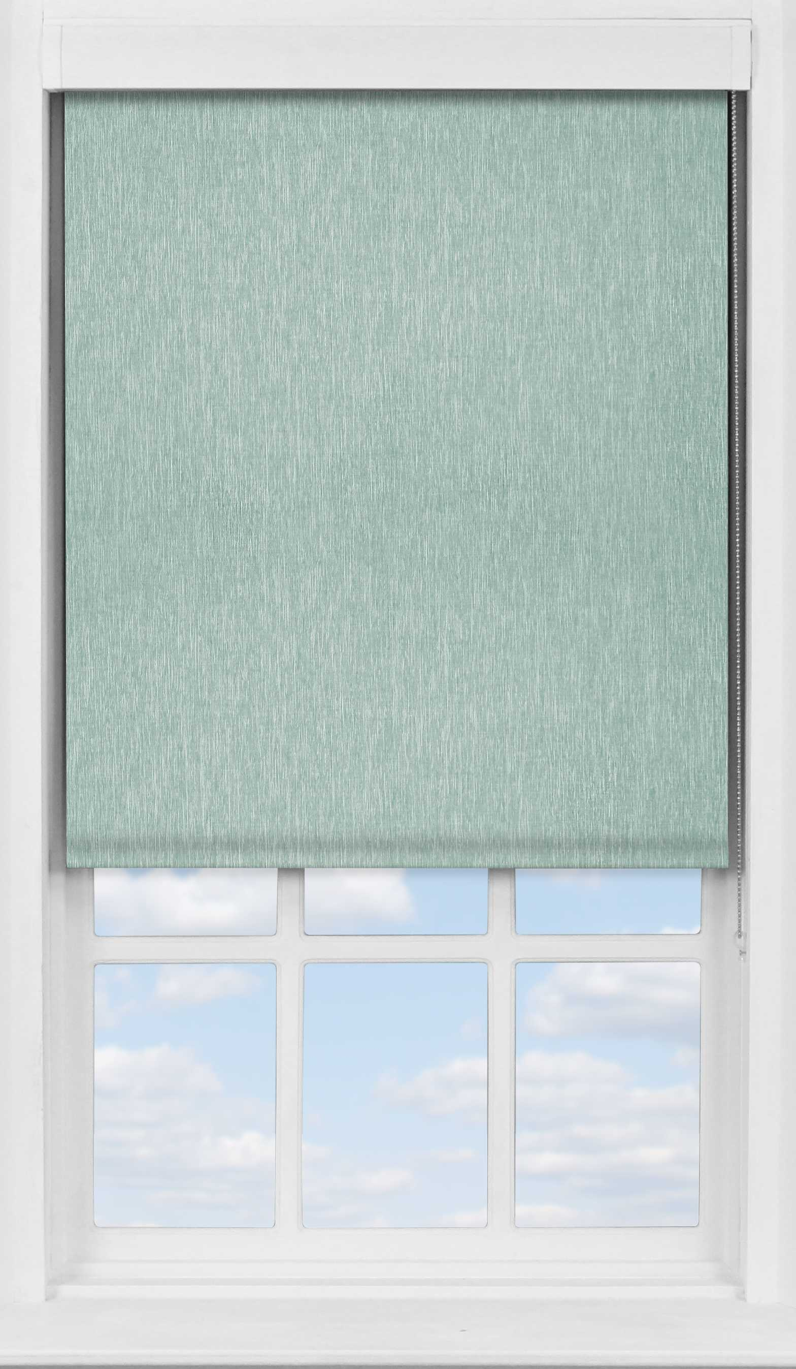 Premium Roller Blind in Brushed Platinum Blackout