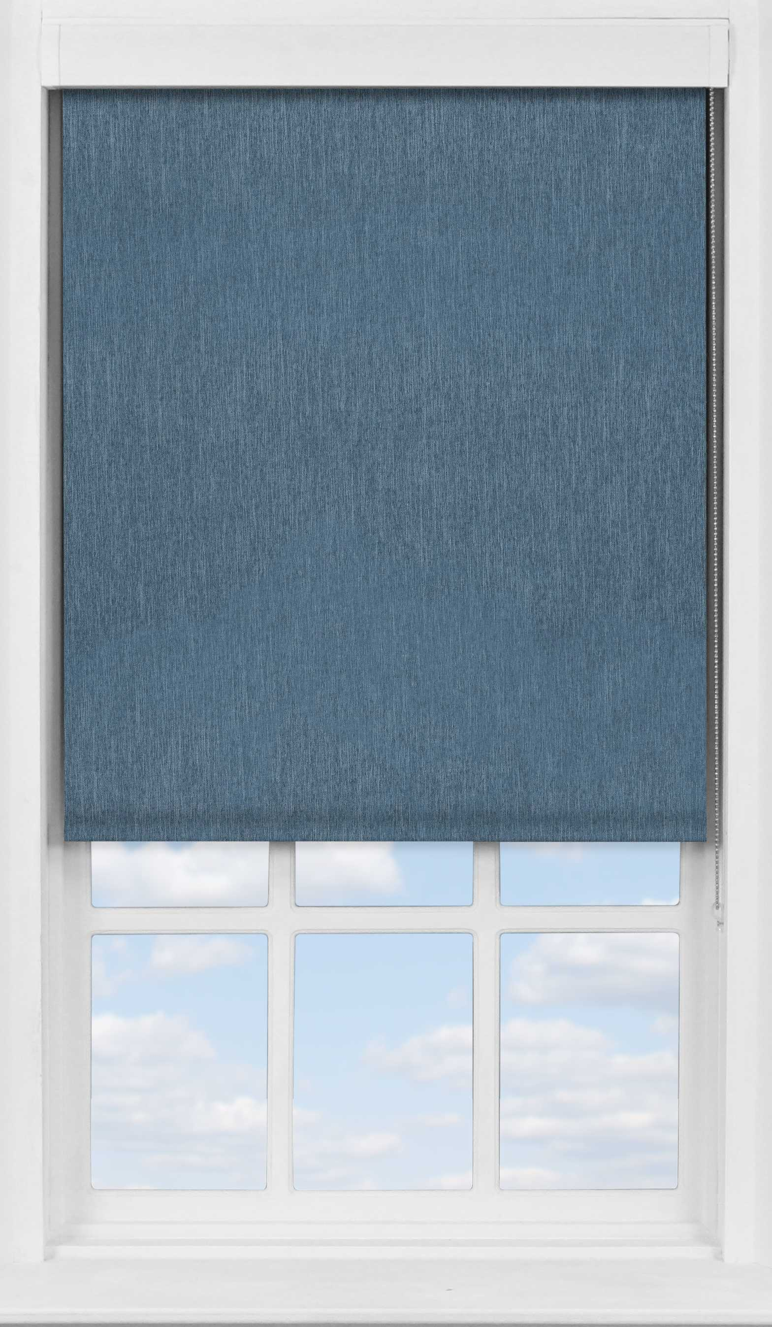 Premium Roller Blind in Sheek Indigo Translucent