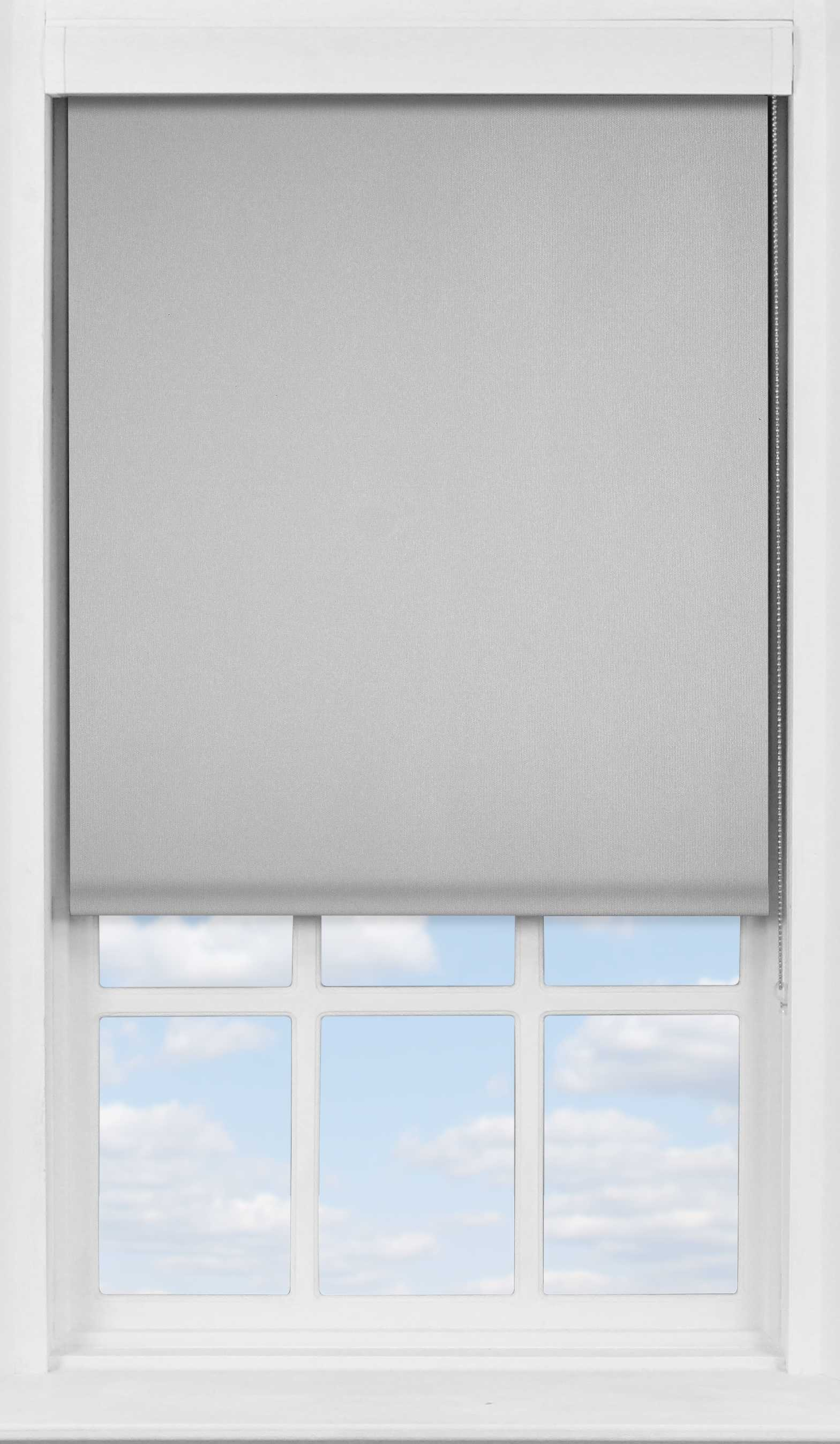 Premium Roller Blind in PVC Grey